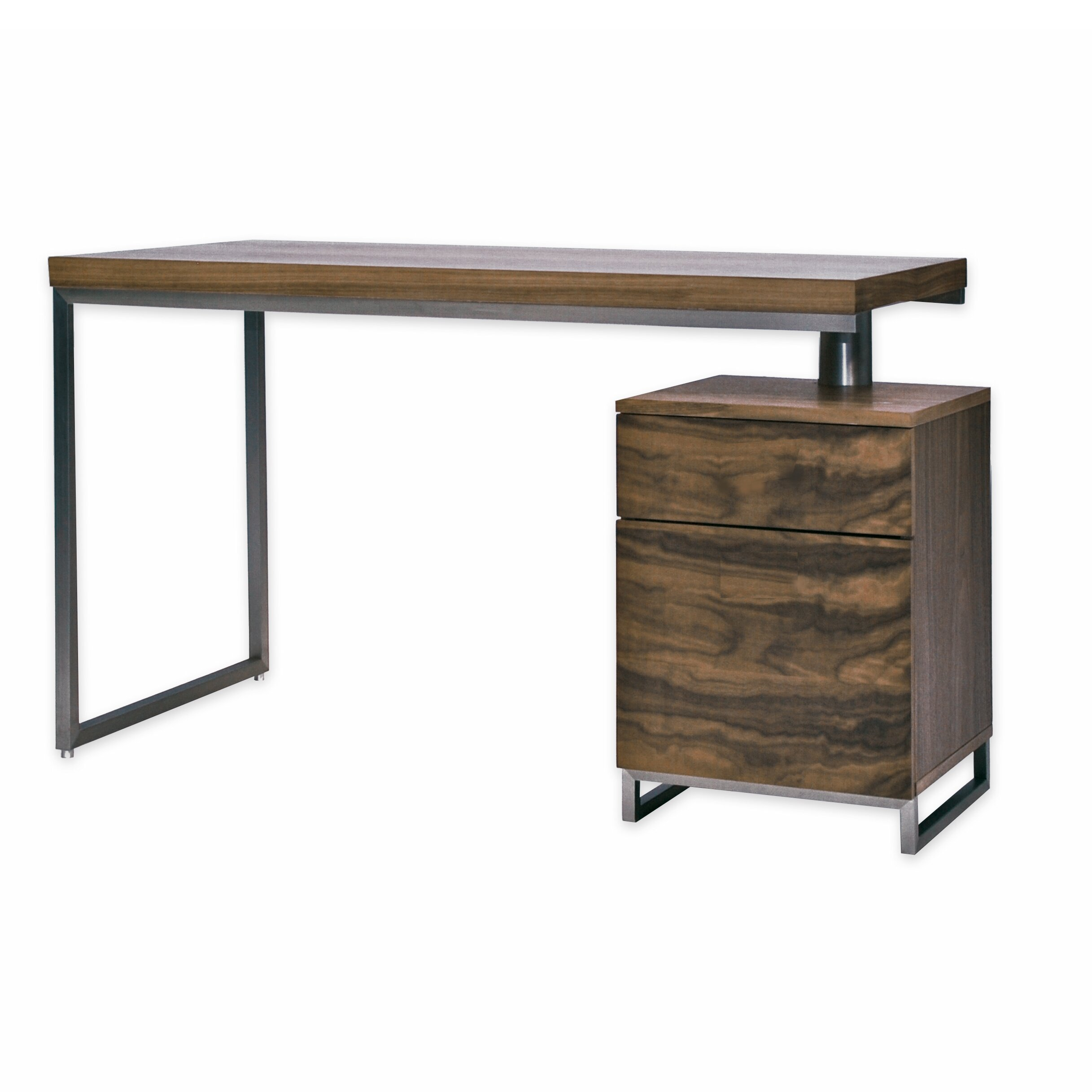 Wonderful image of Mobital Span Writing Desk & Reviews Wayfair Supply with #765E45 color and 2434x2434 pixels