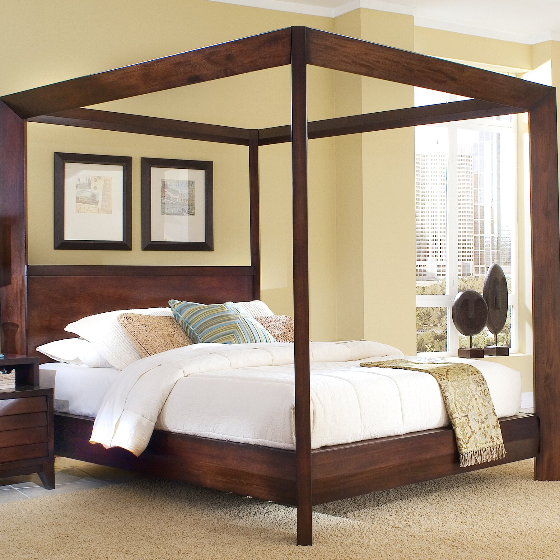 Home image island canopy customizable bedroom set - Pictures of canopy beds ...