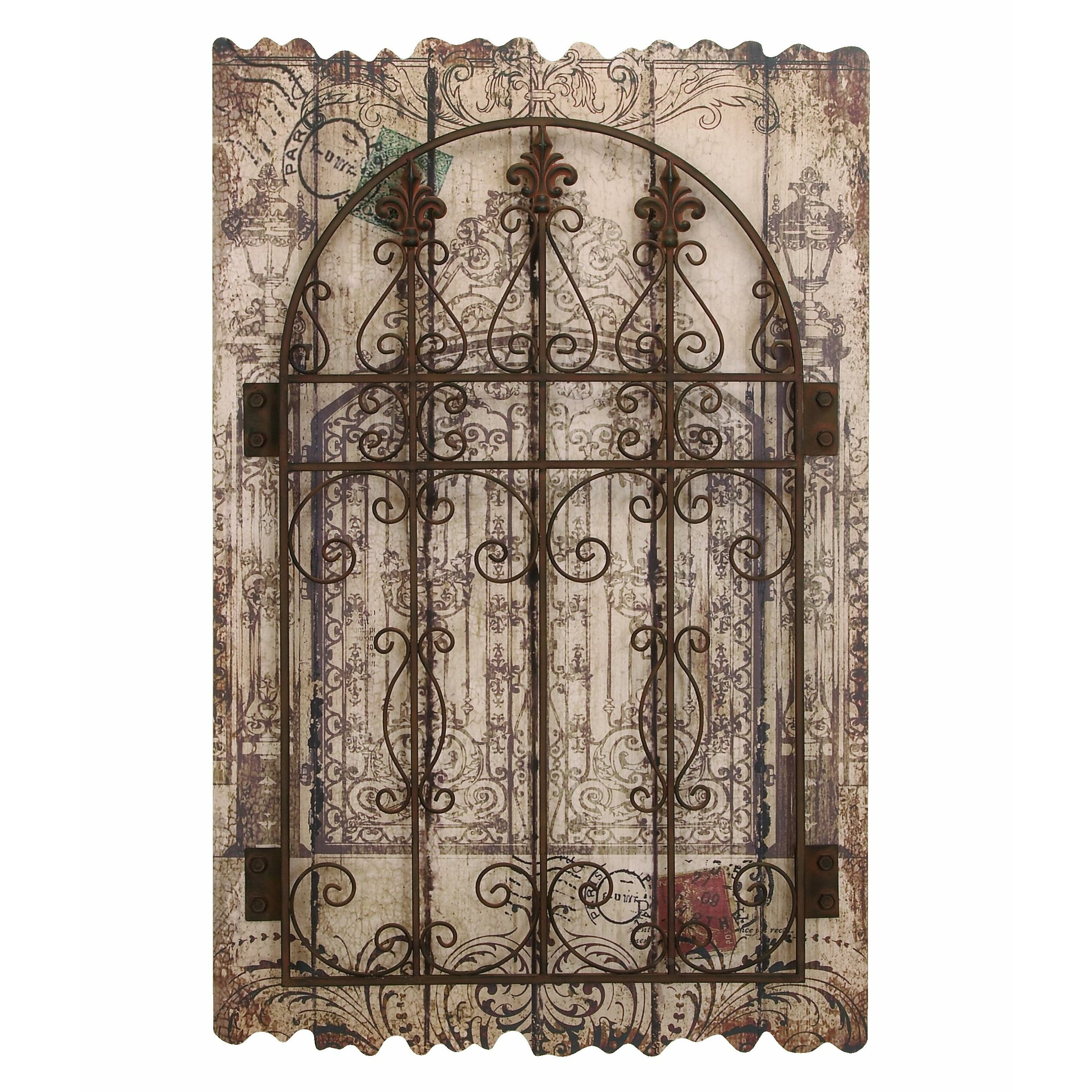Woodland Imports Décor Rustic Intricated Wall Décor