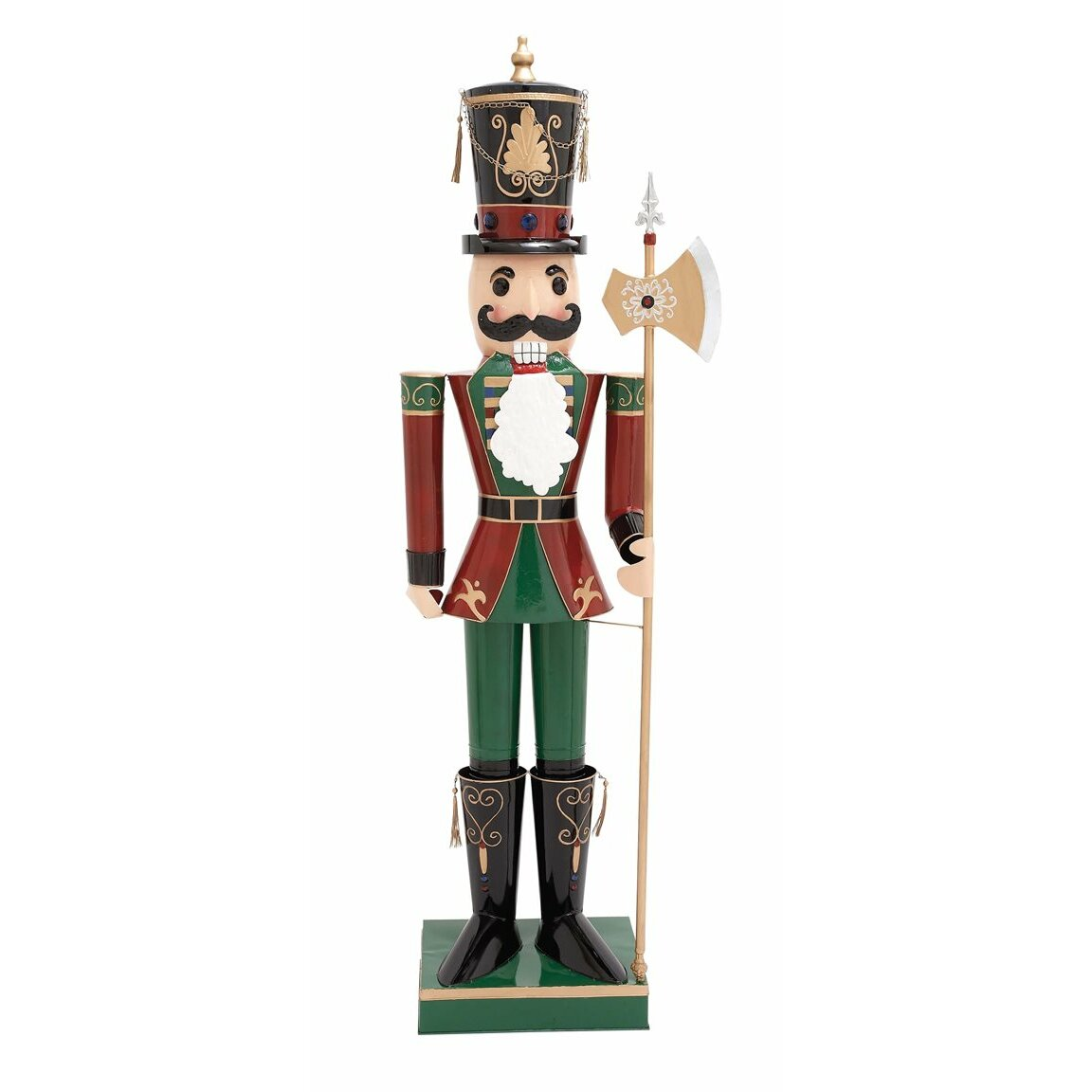 Darby home co metal nutcracker figurine wayfair