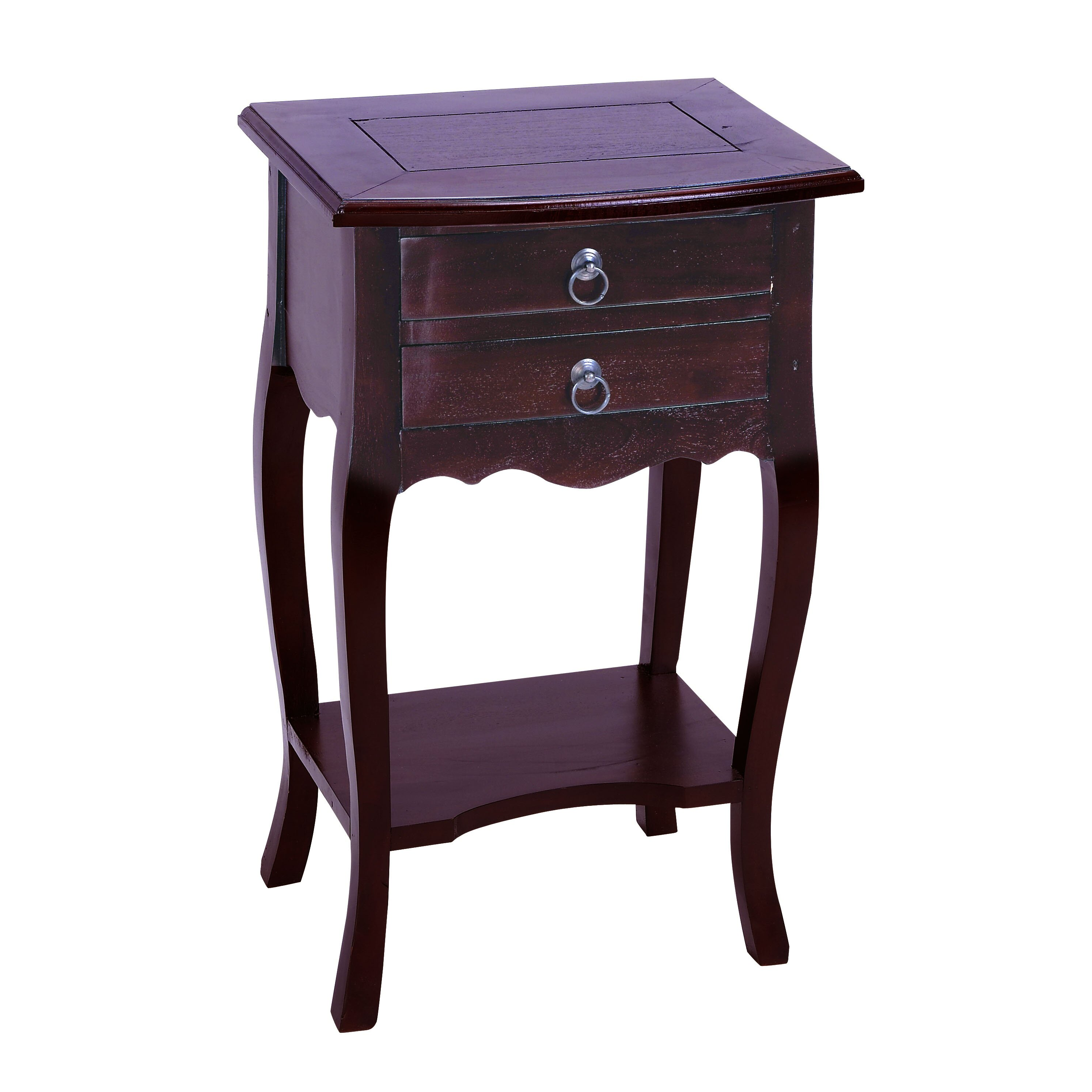 Woodland imports functional design end table reviews for Functional side table