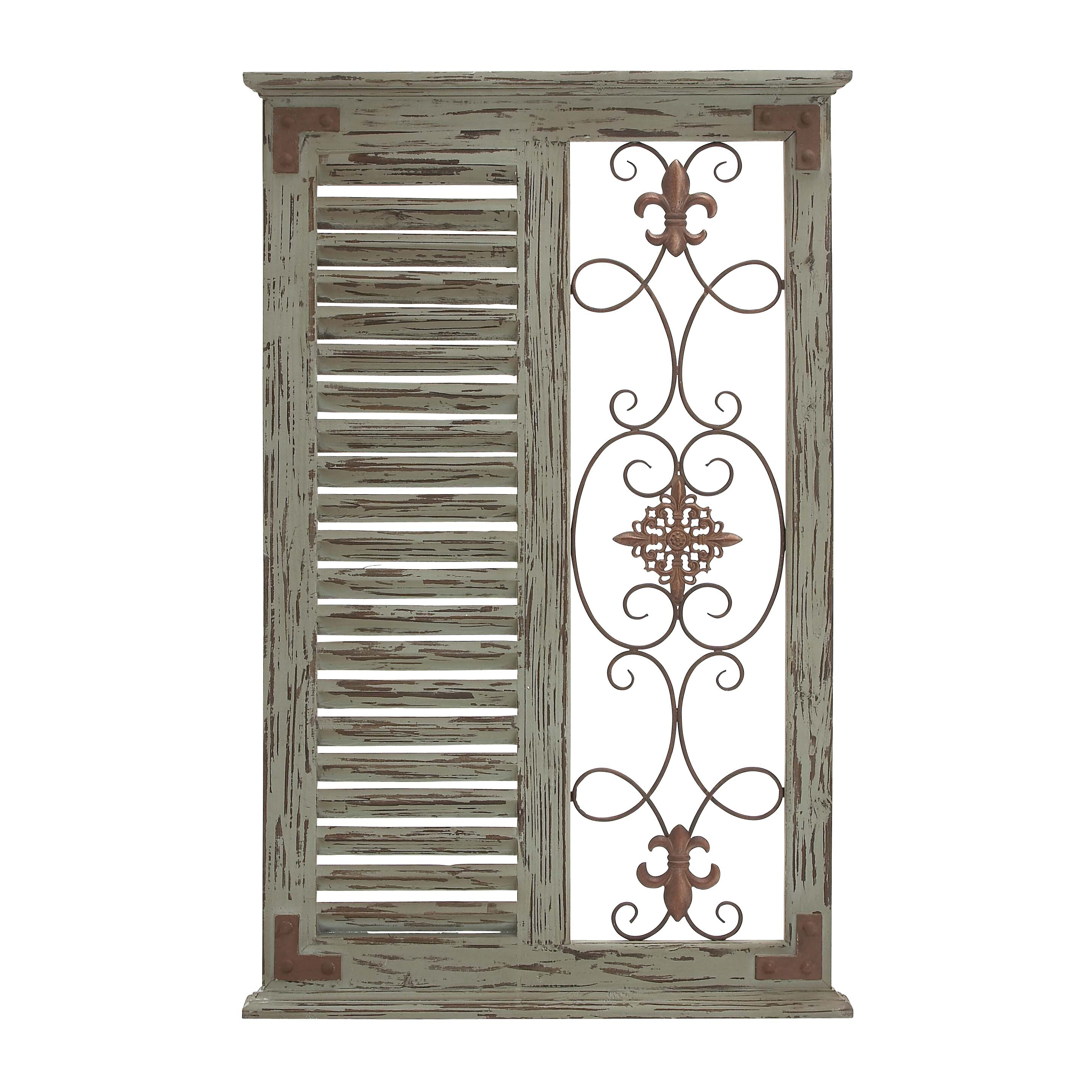 Panel Wall D Cor By Woodland Imports: Woodland Imports Classic Wall Décor & Reviews