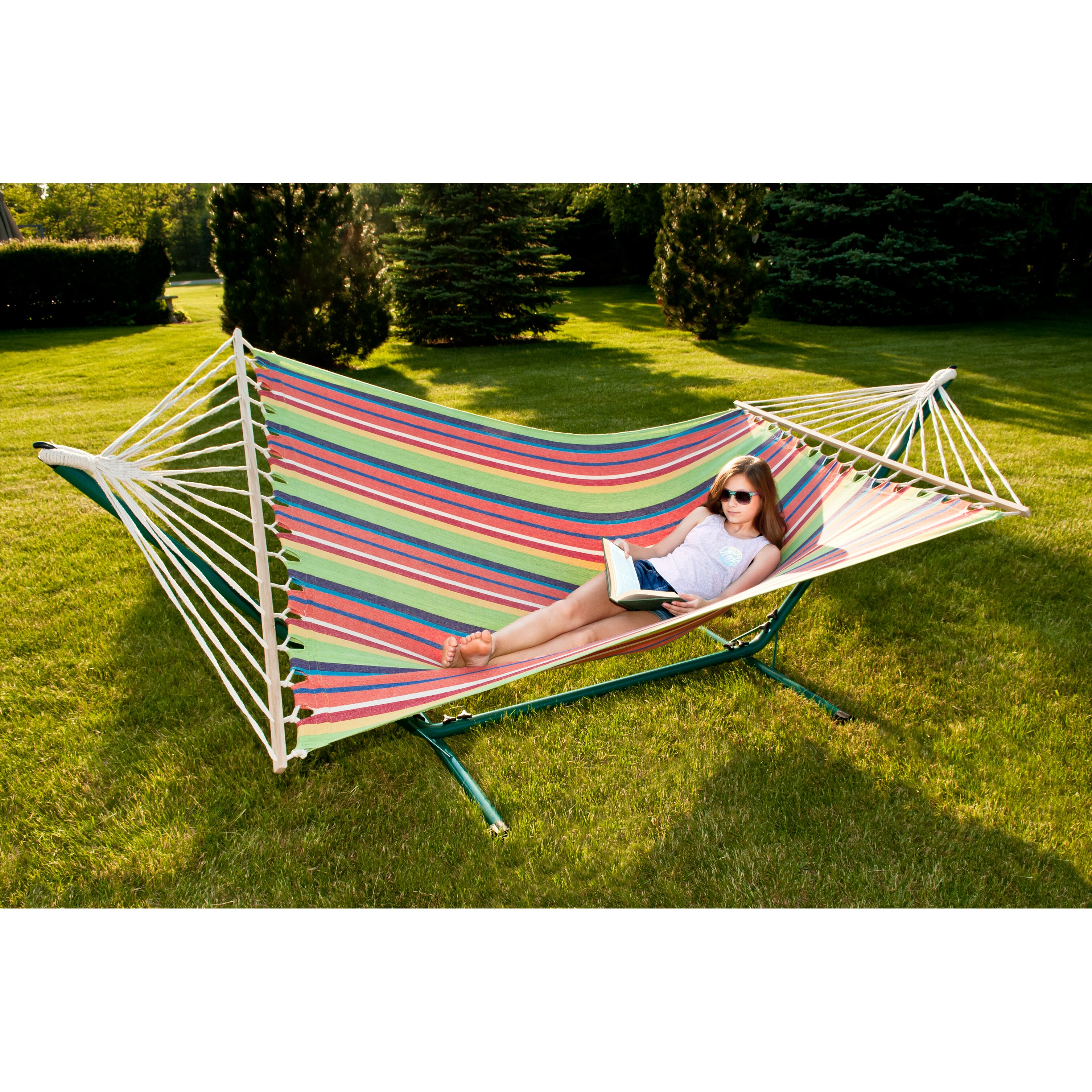 Backyard Hammock Reviews : Sunnywood Sterling Outdoor Hammock & Reviews  Wayfair