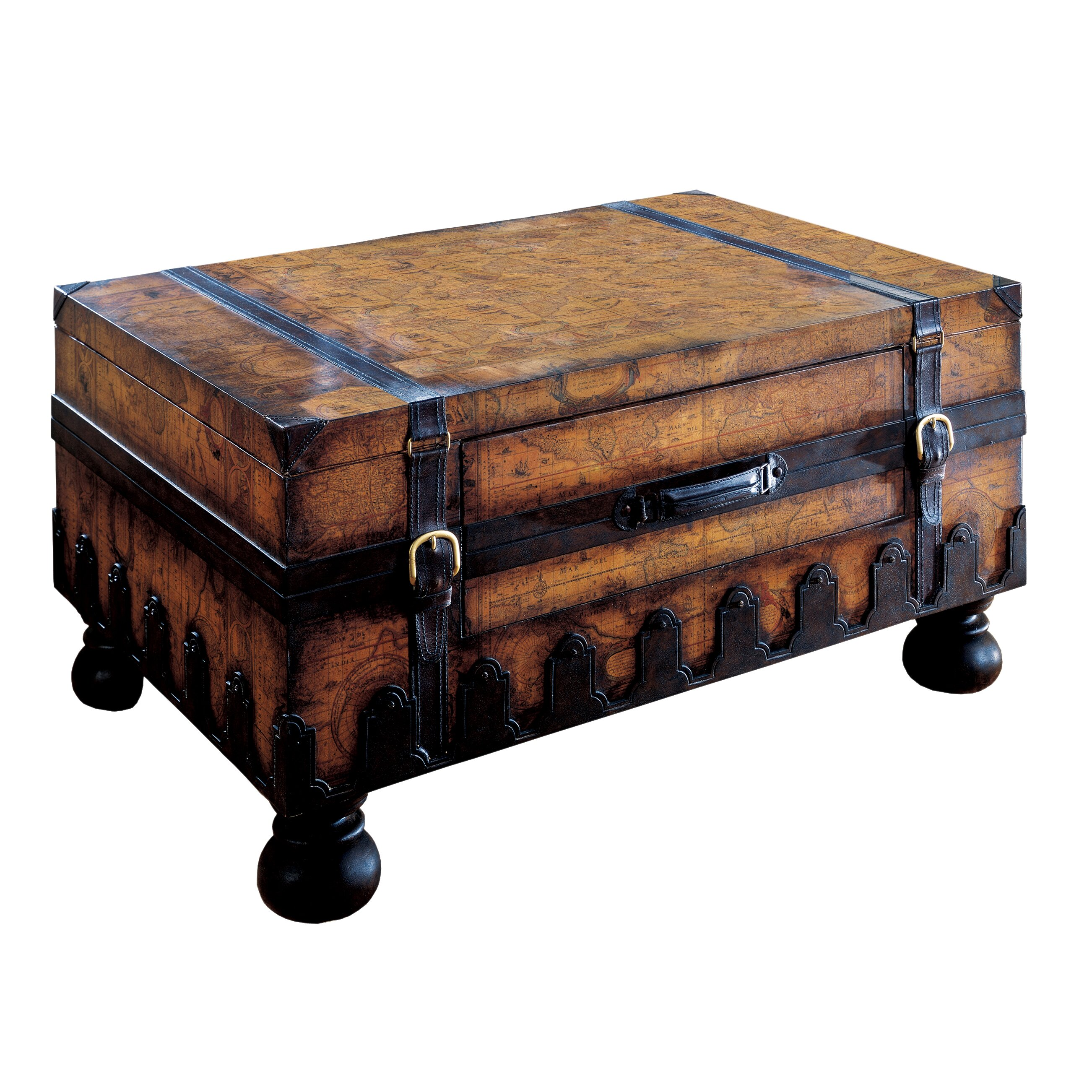 Butler Heritage Trunk Coffee Table & Reviews