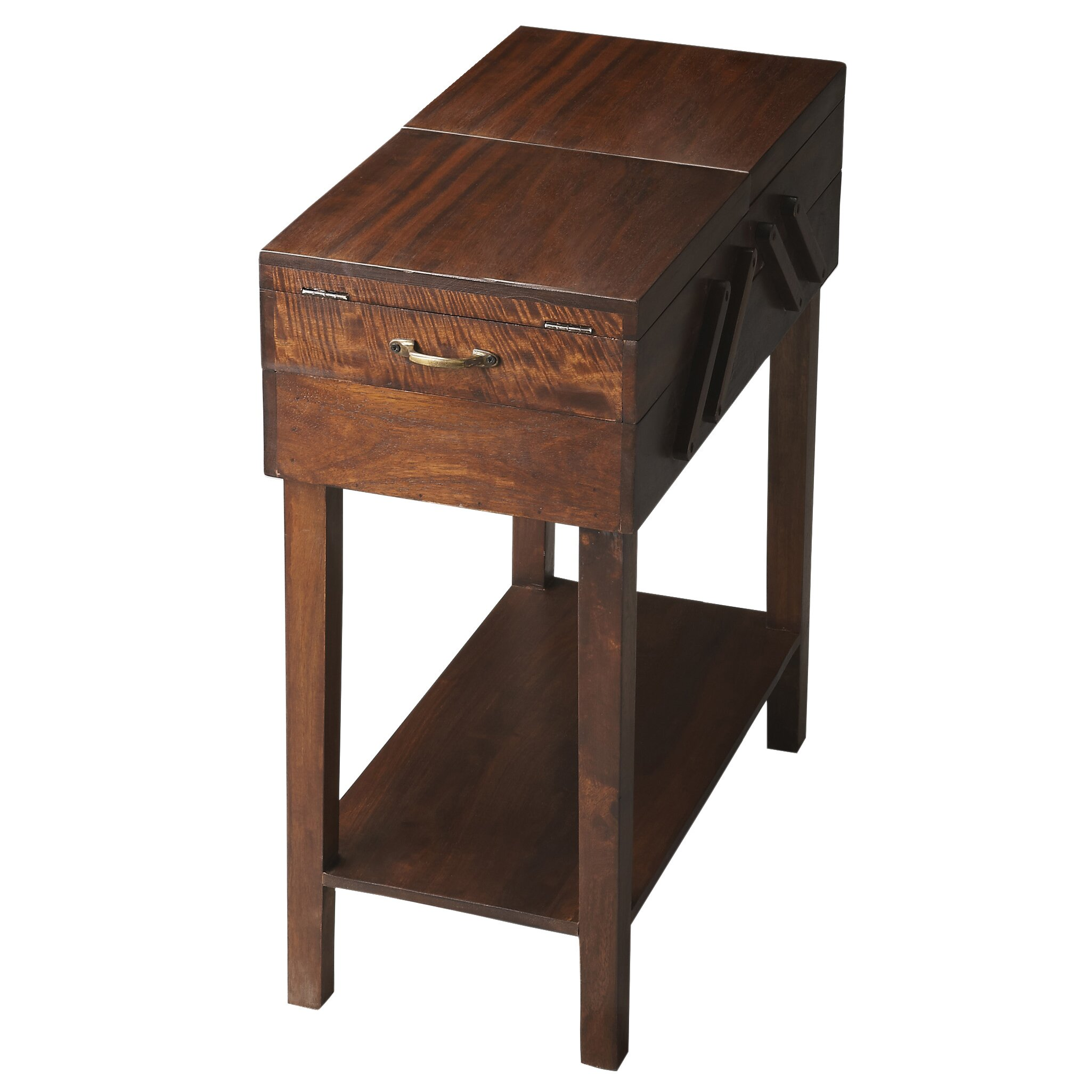Butler modern expressions storage end table reviews wayfair - Contemporary side tables with storage ...