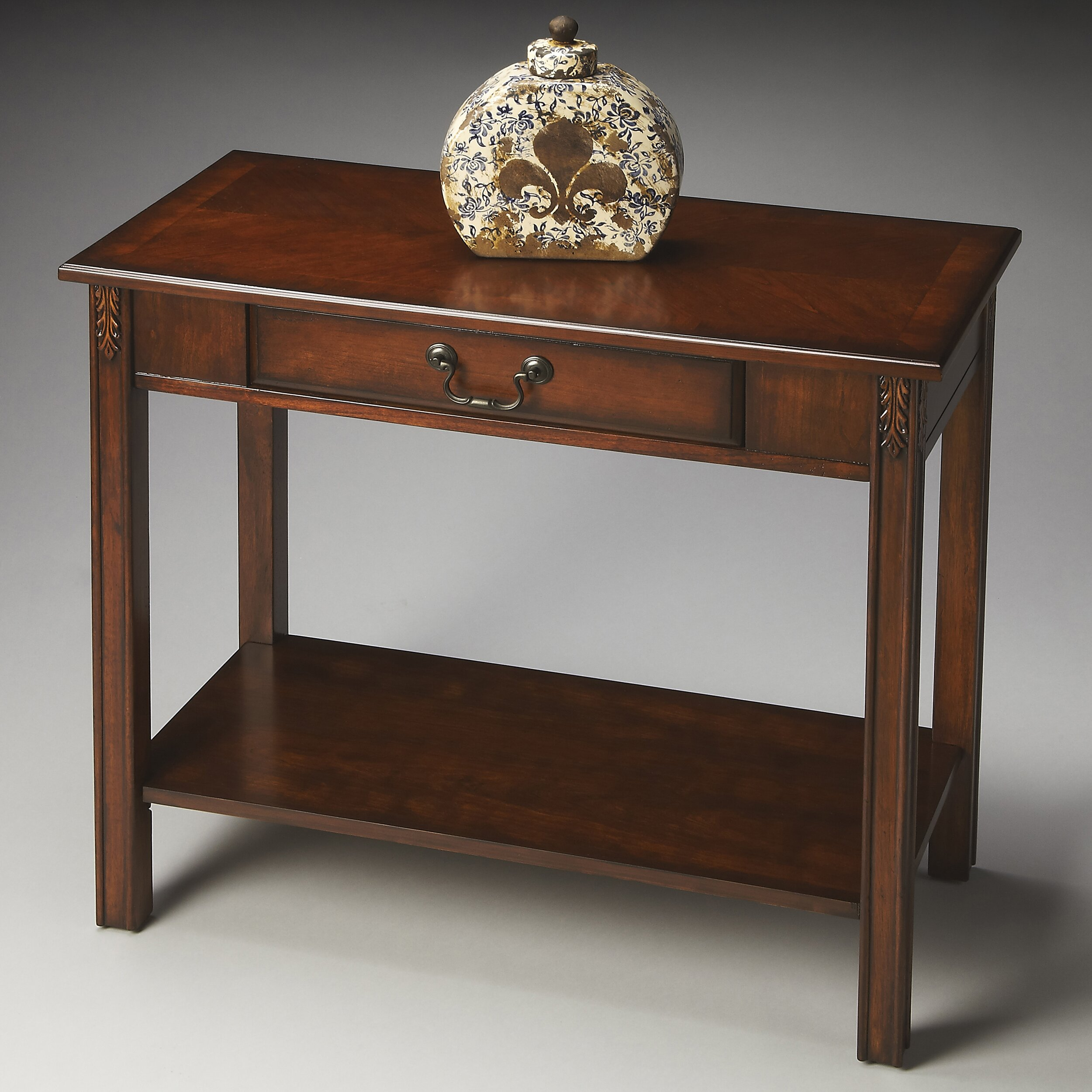 butler sheridan console table reviews wayfair. Black Bedroom Furniture Sets. Home Design Ideas