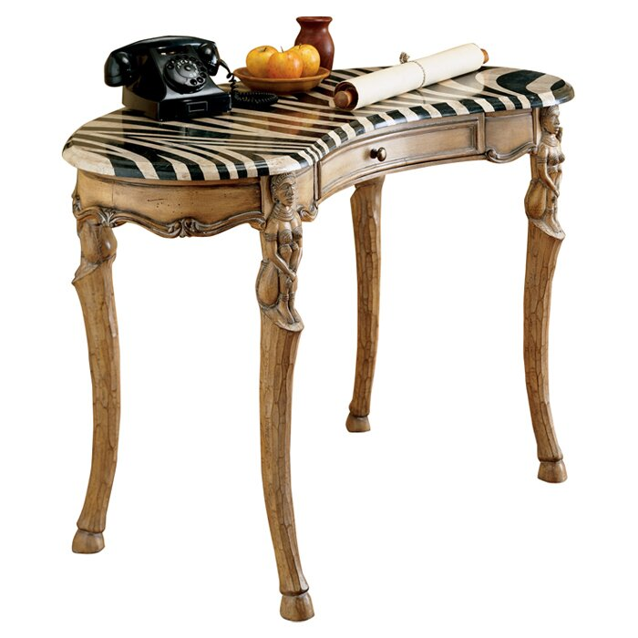Butler Heritage Zebra Writing Desk Amp Reviews Wayfair