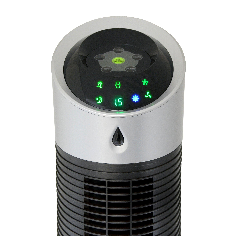 Luma Comfort Tower Evaporative Cooler Amp Reviews Wayfair