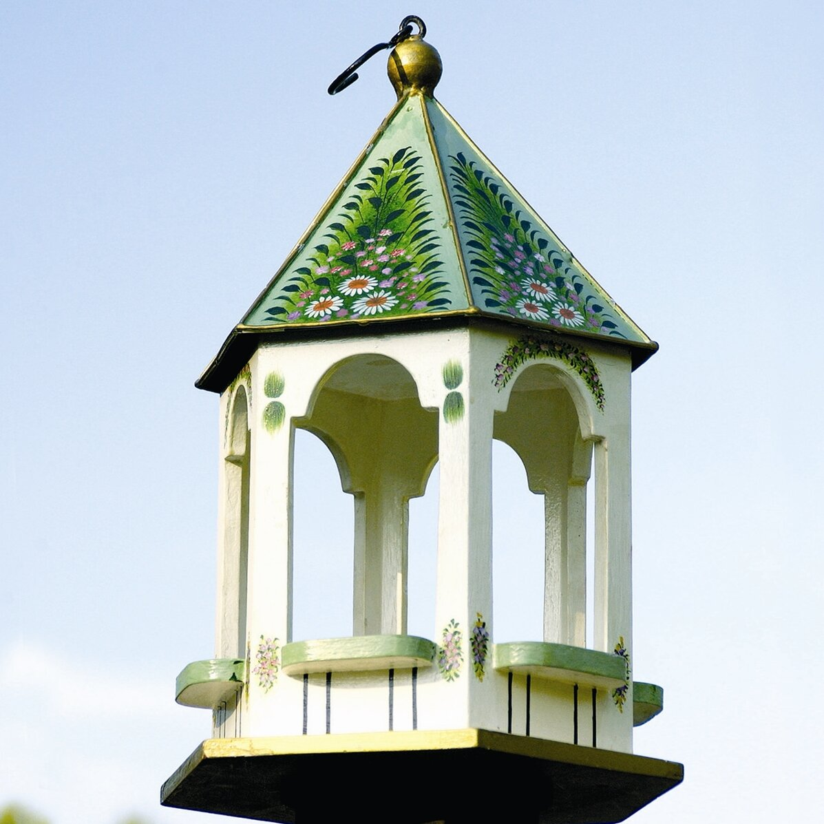 Victorian Backyard Birds : ACHLA Victorian Gazebo Bird Feeder & Reviews  Wayfair
