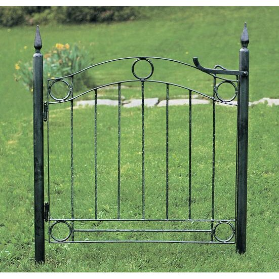achla country cottage wrought iron garden gate achla designs wrought iron