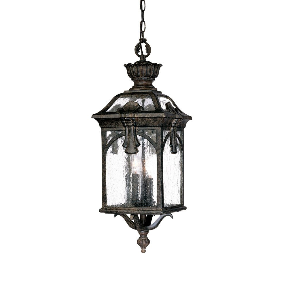 Acclaim lighting belmont 3 light outdoor hanging lantern for Exterieur lighting
