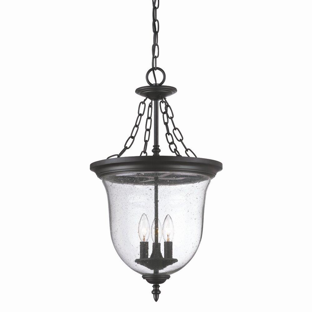 Wayfair Outdoor Hanging Lights: Acclaim Lighting Belle 3 Light Outdoor Pendant & Reviews