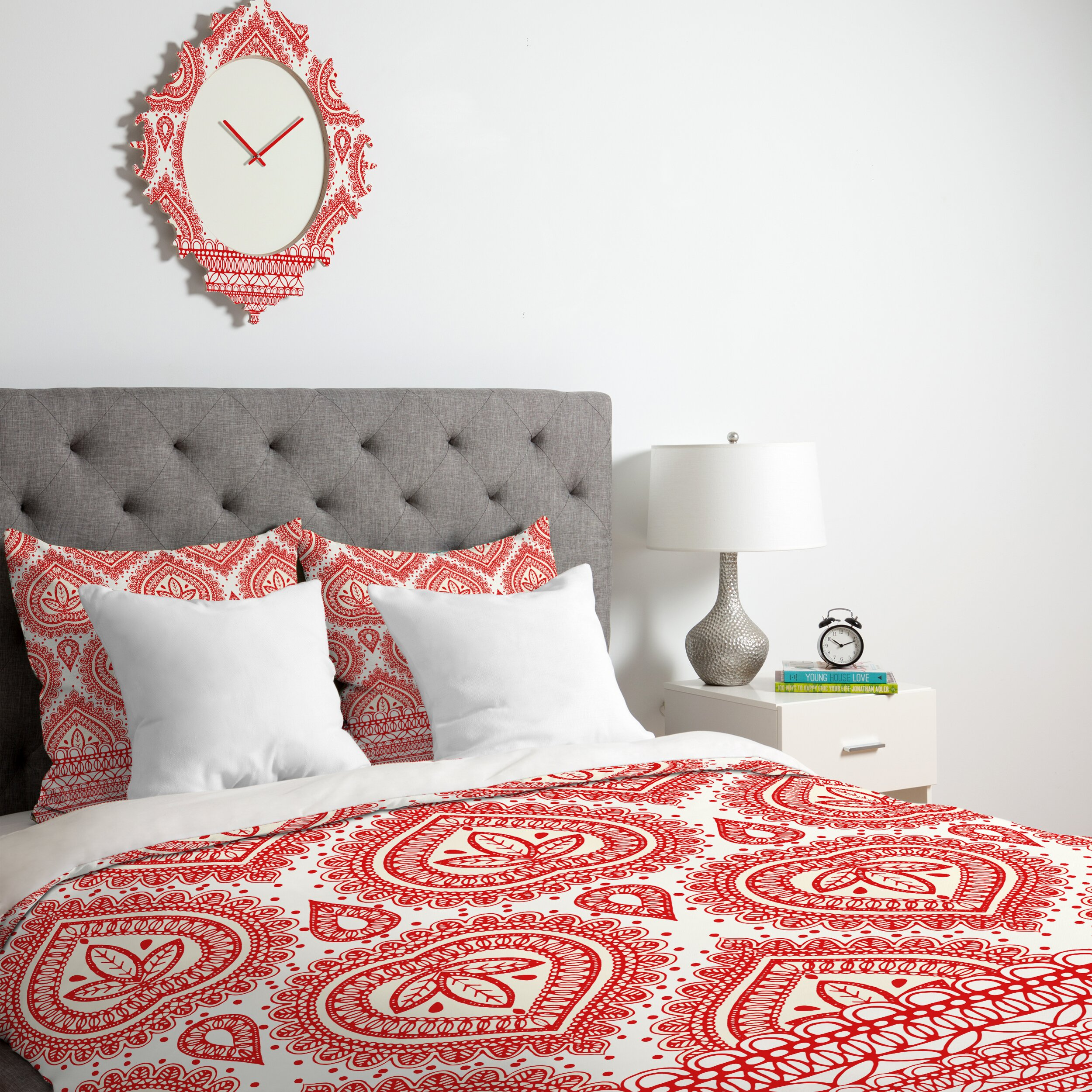 Deny designs aimee st hill decorative duvet cover for Decorative bed covers