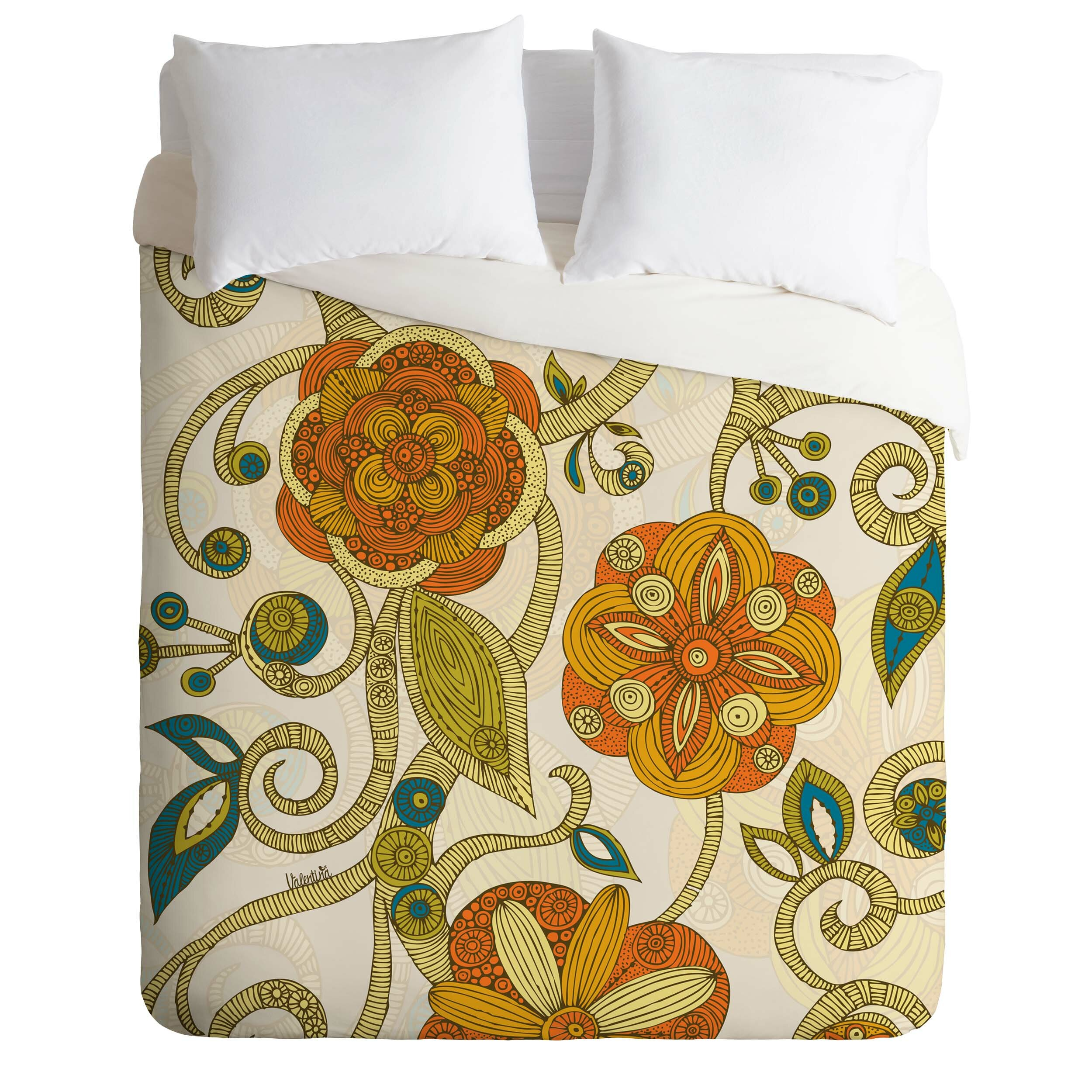 teen small bedroom deny designs valentina ramos lightweight flowers duvet 13497