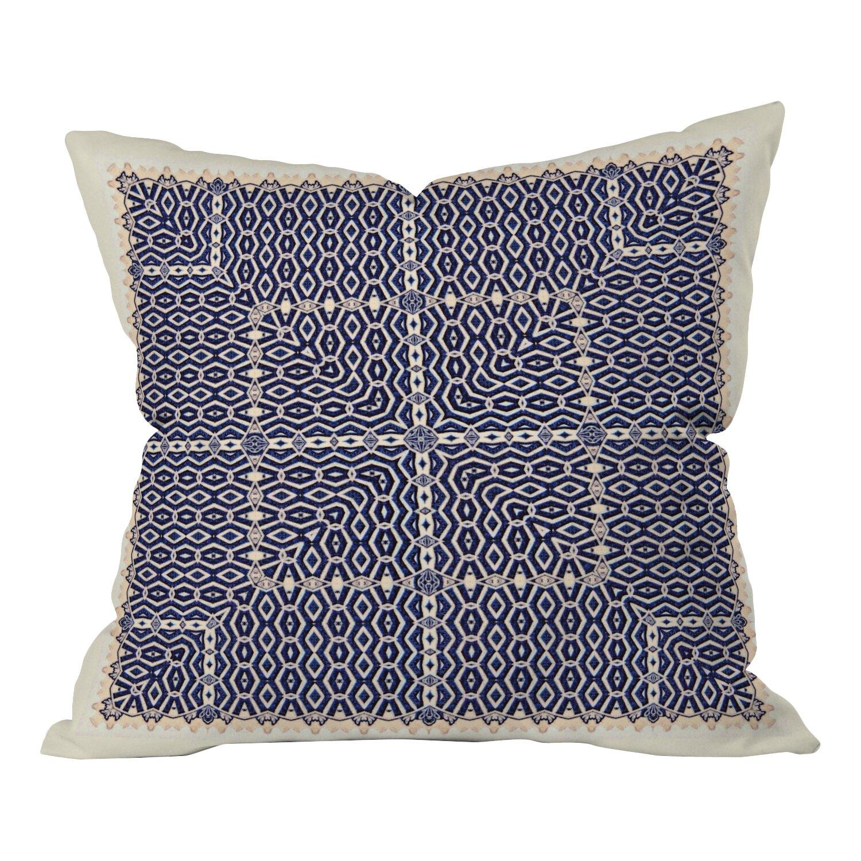 DENY Designs Ballack Art House Greece Indoor/Outdoor Throw Pillow & Reviews Wayfair