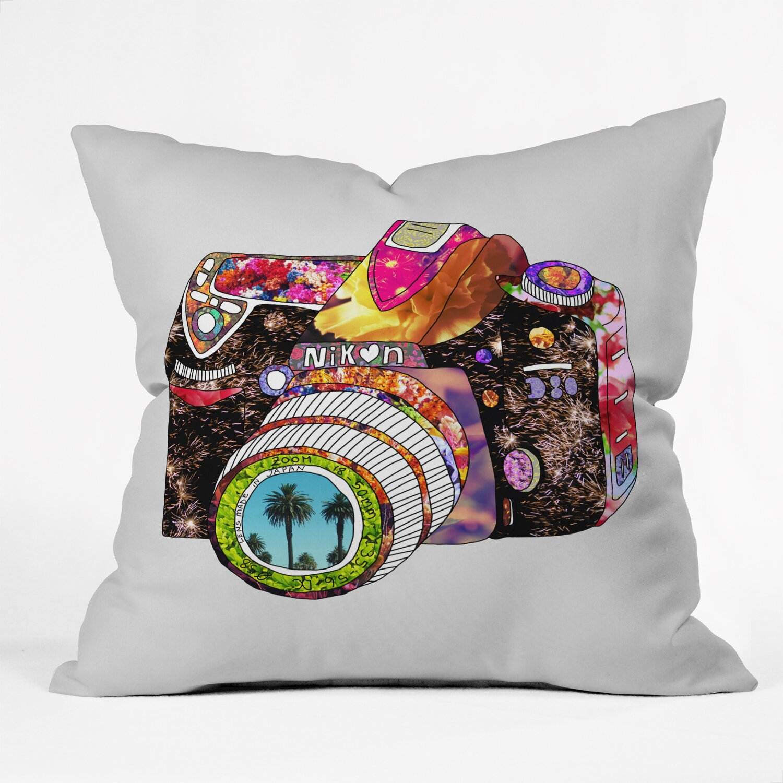 Wayfair Green Throw Pillows : DENY Designs Bianca Green Picture Throw Pillow & Reviews Wayfair