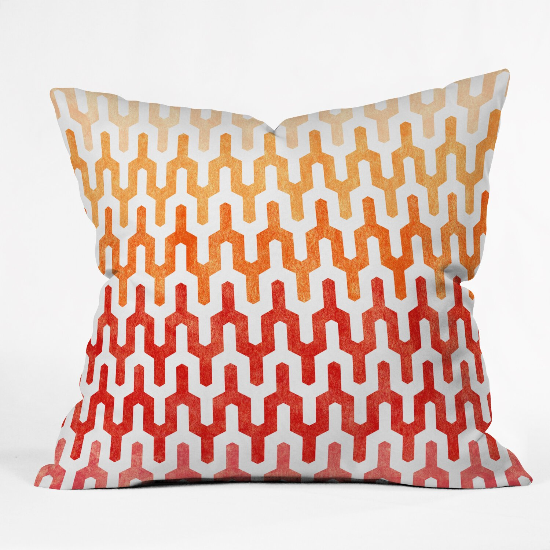 Throw Pillow Wayfair : DENY Designs Arcturus Warm Throw Pillow & Reviews Wayfair
