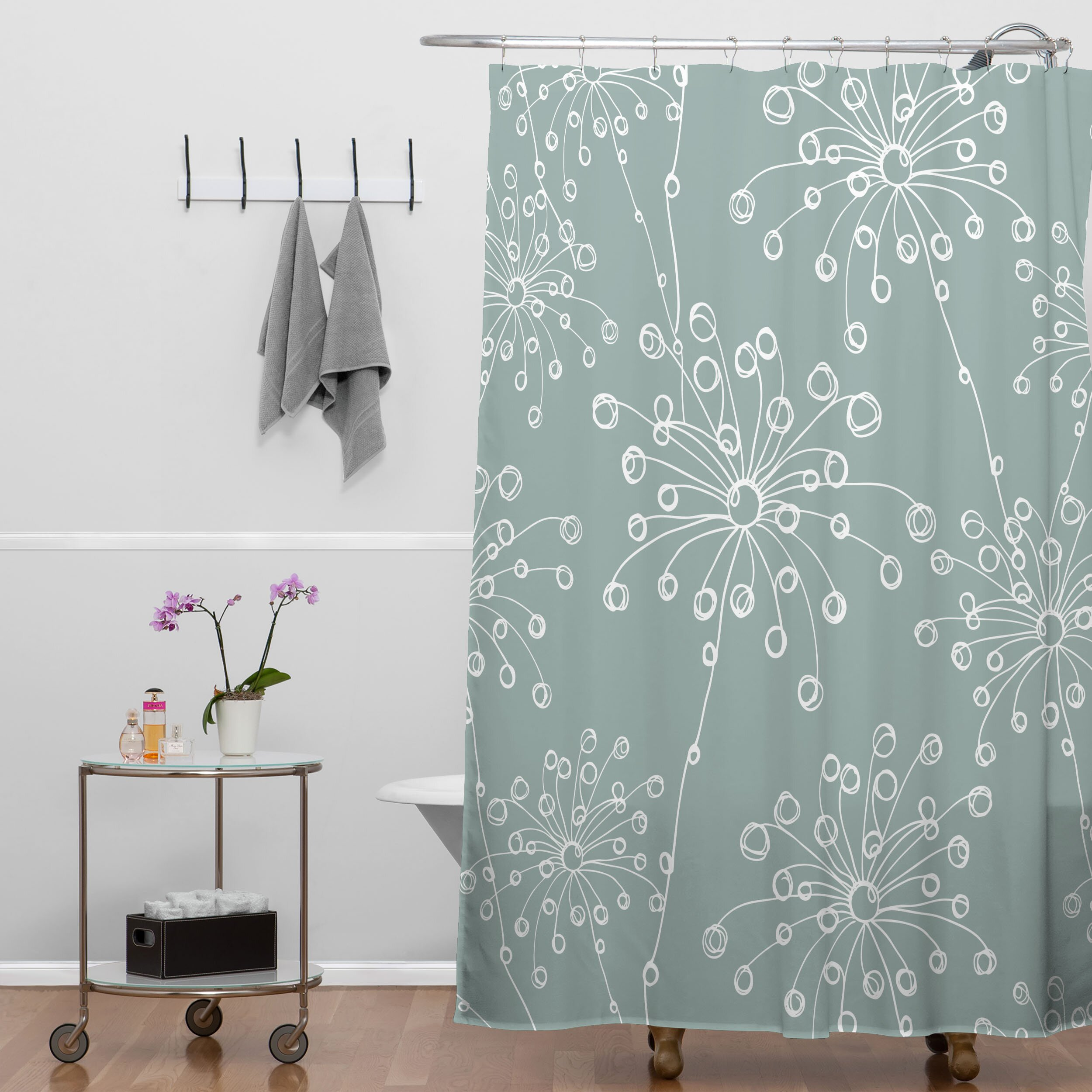 deny designs rachael taylor quirky motifs shower curtain