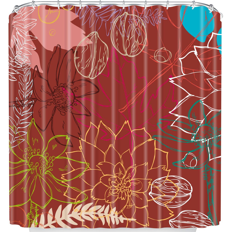 DENY Designs Geronimo Studio Fall Shower Curtain   Wayfair