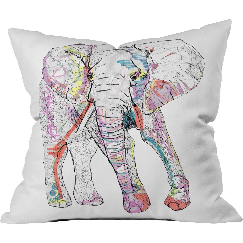 Deny Designs Casey Rogers Elephant Throw Pillow Amp Reviews