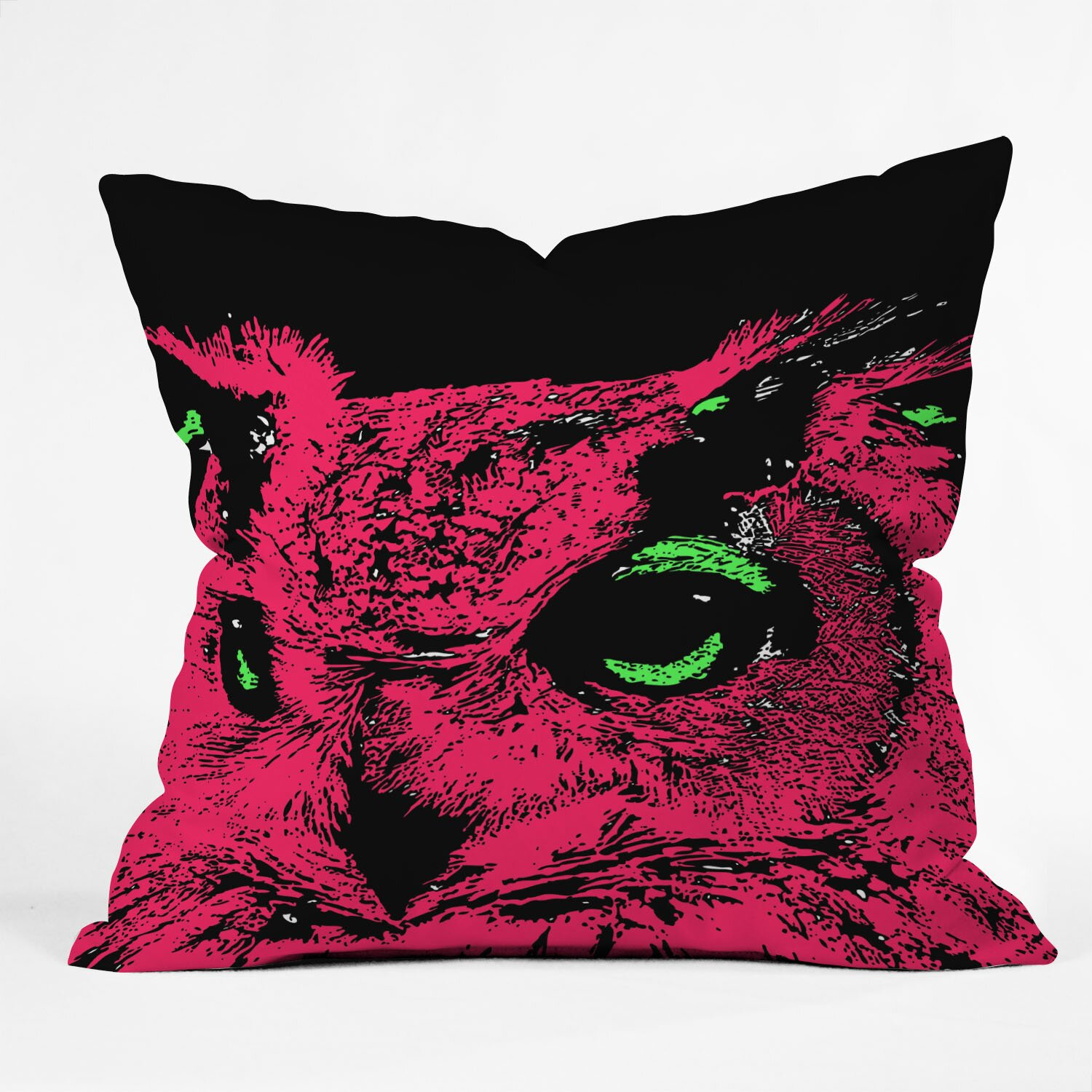 DENY Designs Romi Vega Owl Throw Pillow & Reviews Wayfair
