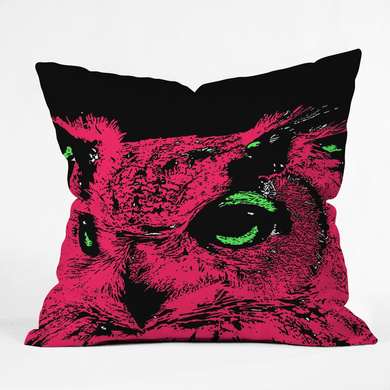 Throw Pillows With Owls : DENY Designs Romi Vega Owl Throw Pillow & Reviews Wayfair