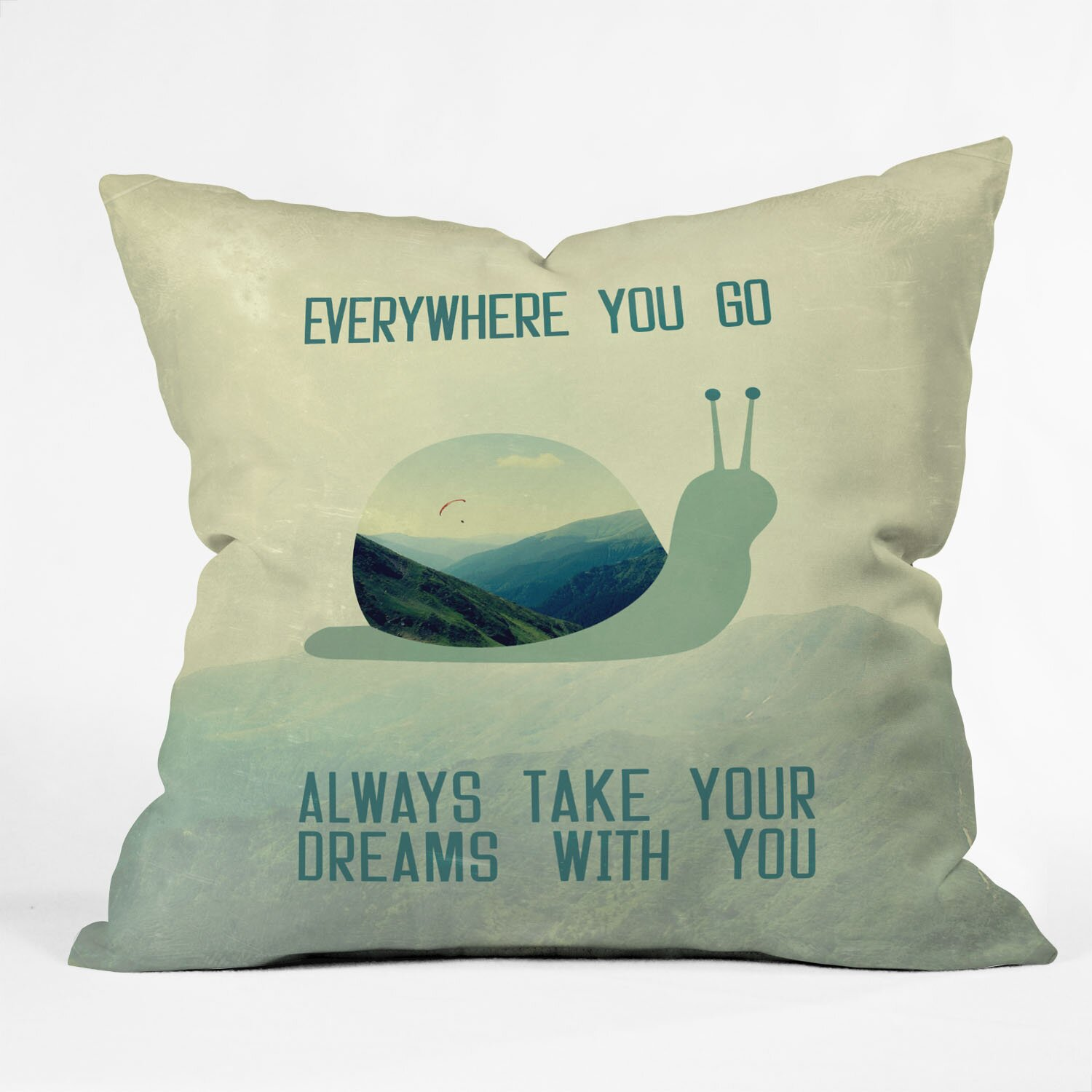 Denydesigns Deny Designs Belle13 Always Take Your Dreams Throw Pillow