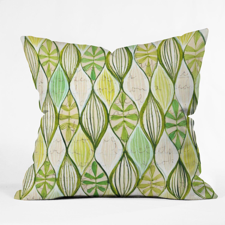 Wayfair Green Throw Pillows : DENY Designs Cori Dantini Throw Pillow Wayfair