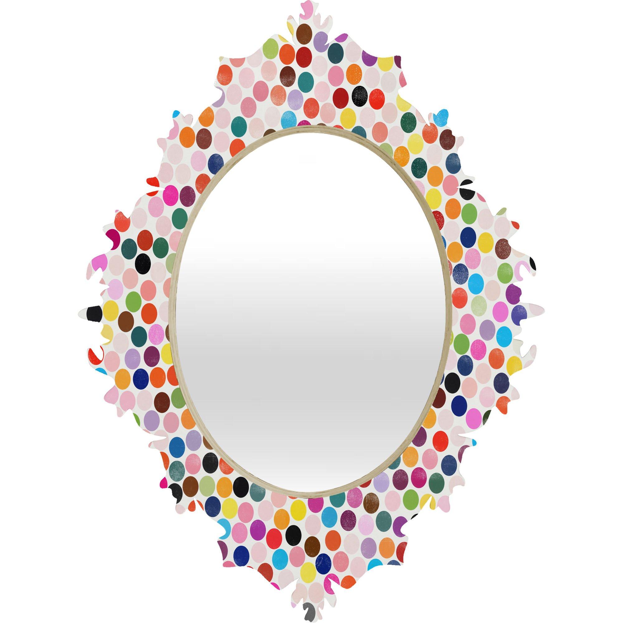 Deny designs garima dhawan dance 3 baroque mirror for Dance mirrors