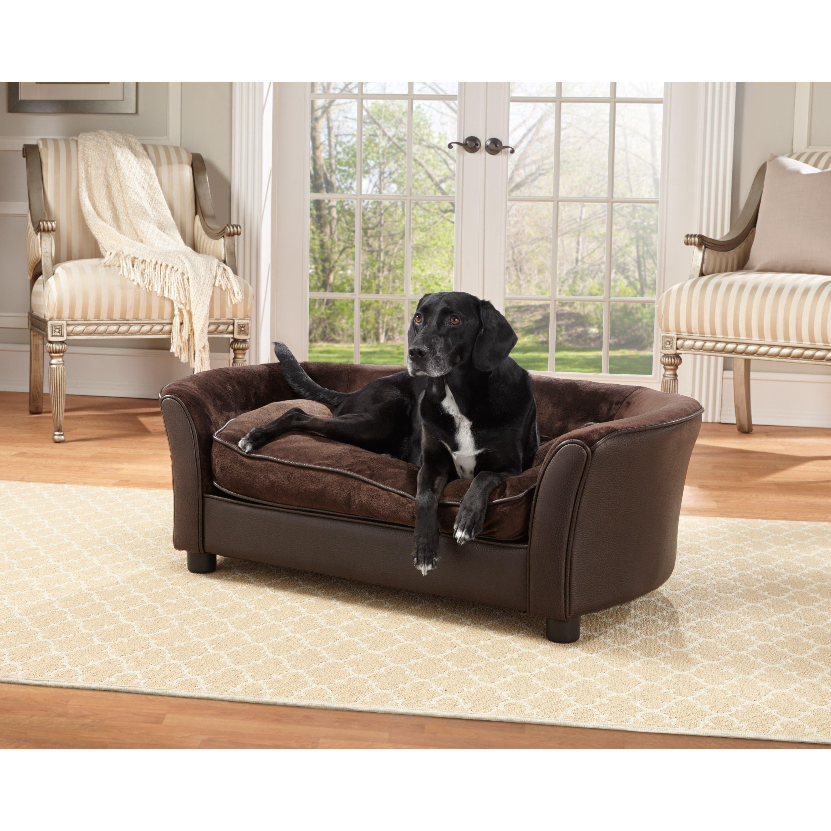 Enchanted Home Pet Panache Dog Sofa Reviews Wayfair