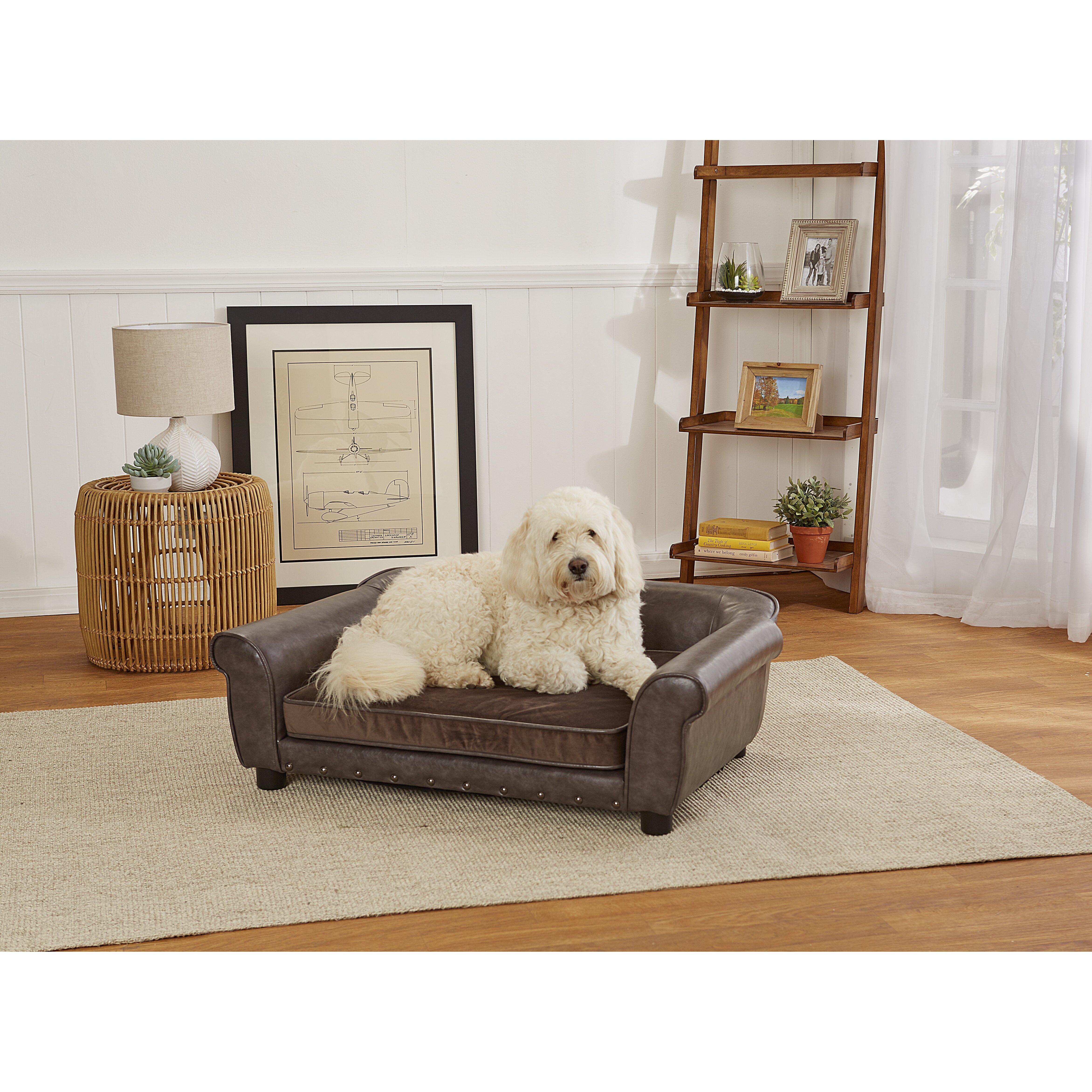 Enchanted Home Pet Spencer Dog Sofa Reviews Wayfair