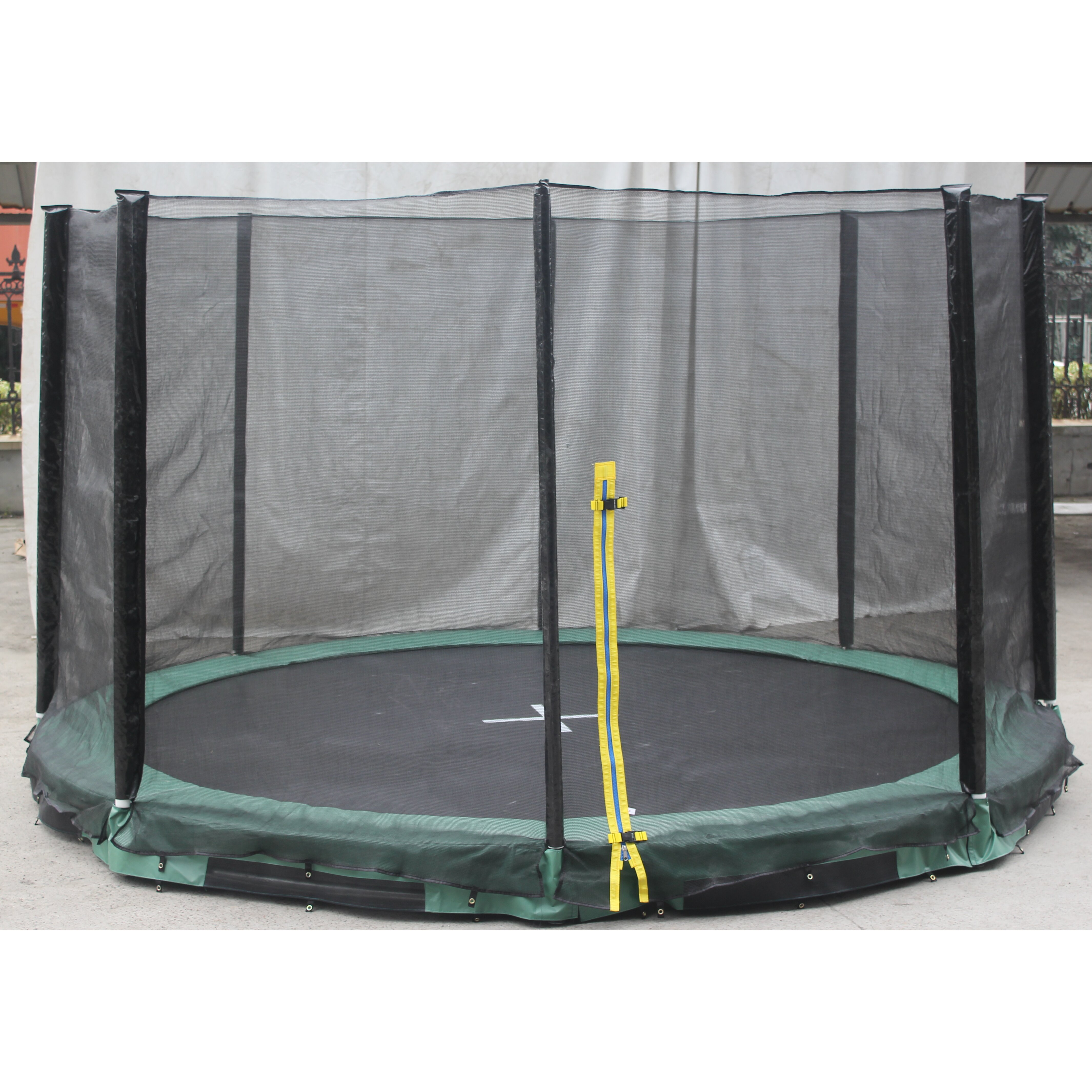 Super Jumper Inground 14' Round Trampoline With Safety