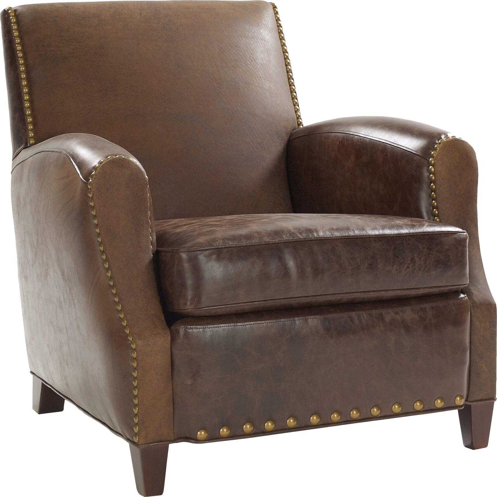Leathercraft Parisian Leather Chair Wayfair