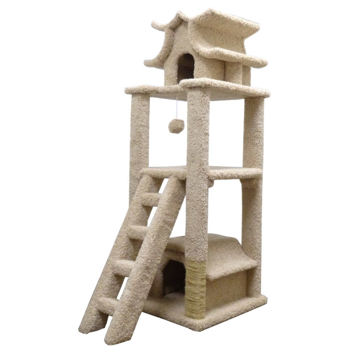 "New Cat Condos 67"" Premier Designer Cat Tree & Reviews"