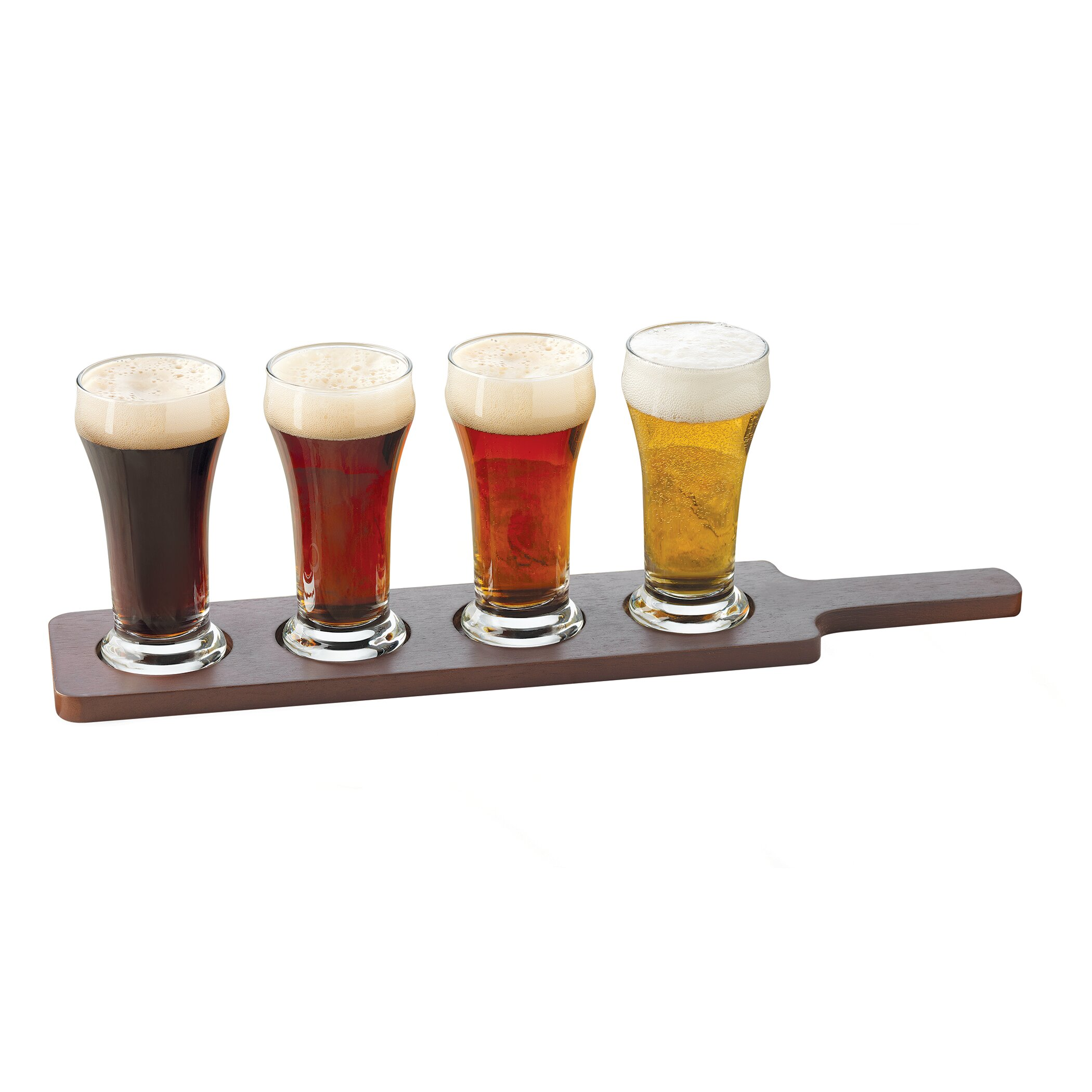 libbey craft brews 4 piece 6 oz beer glass set reviews. Black Bedroom Furniture Sets. Home Design Ideas