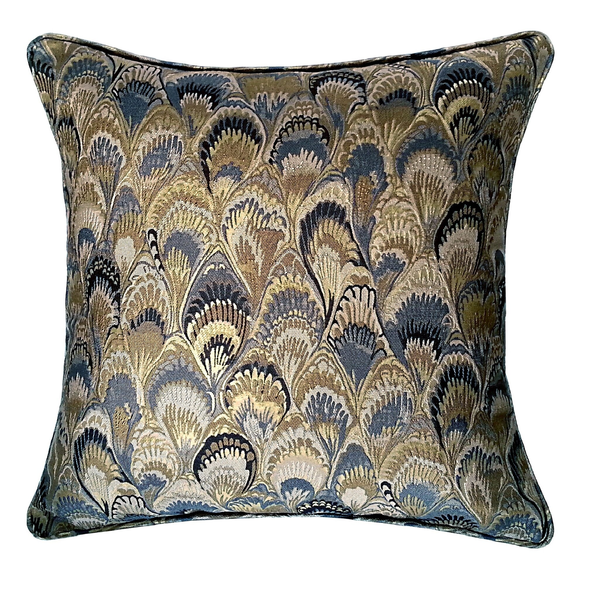 R&MIndustries Marbleize Jacquard Throw Pillow Wayfair