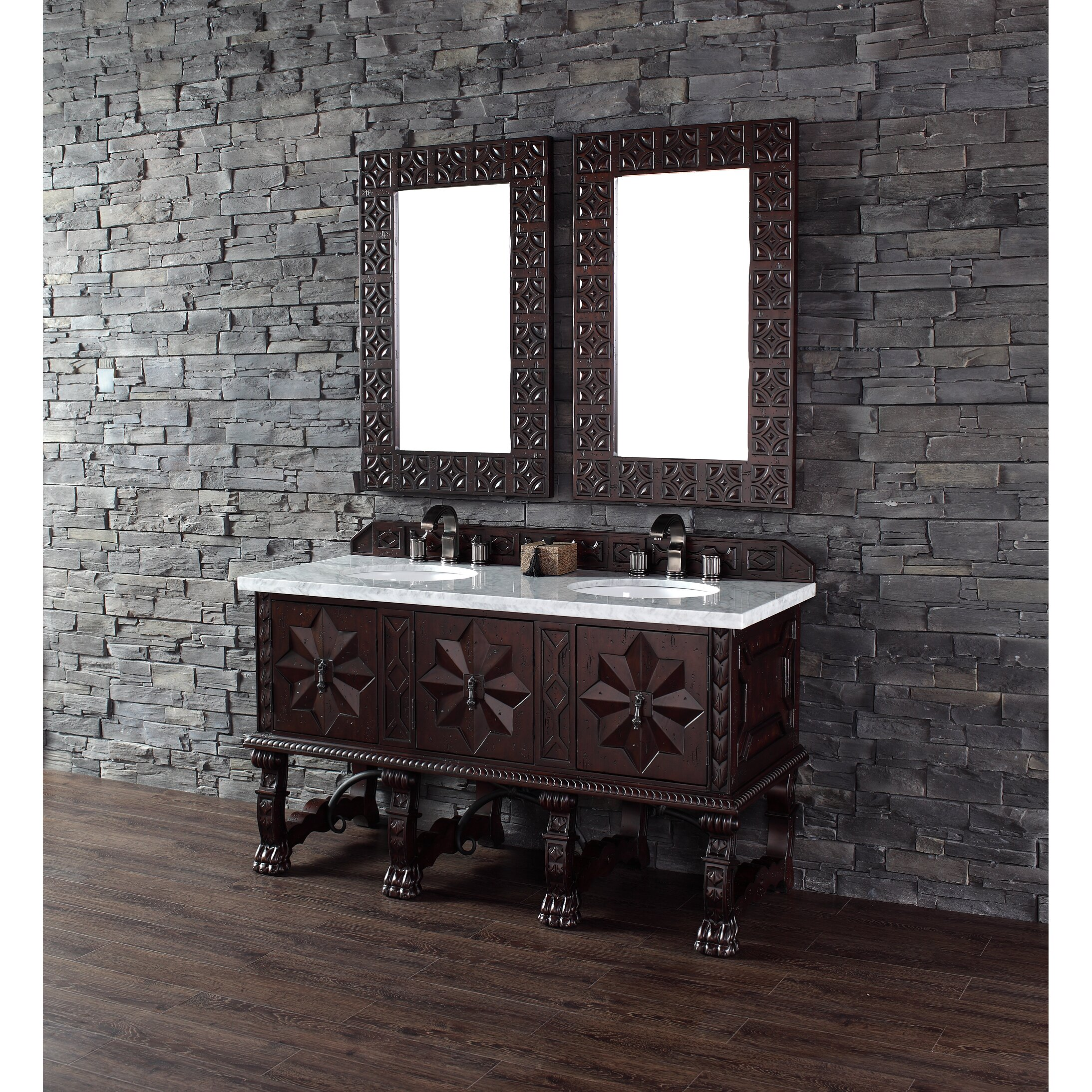 James Martin Furniture Balmoral 60 Double Bathroom Vanity