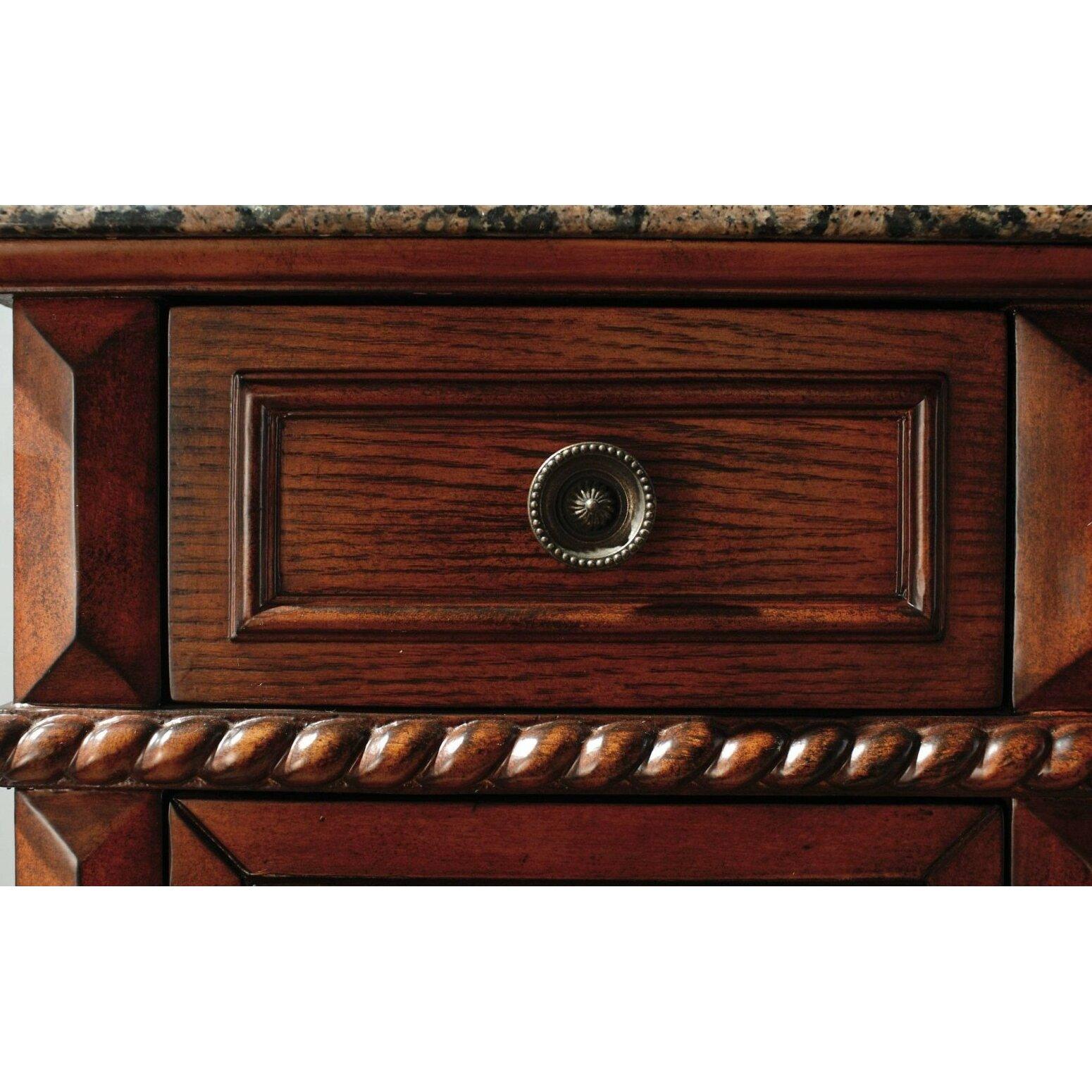 James Martin Furniture Classico 53 Single Cherry Bathroom Vanity Set Reviews