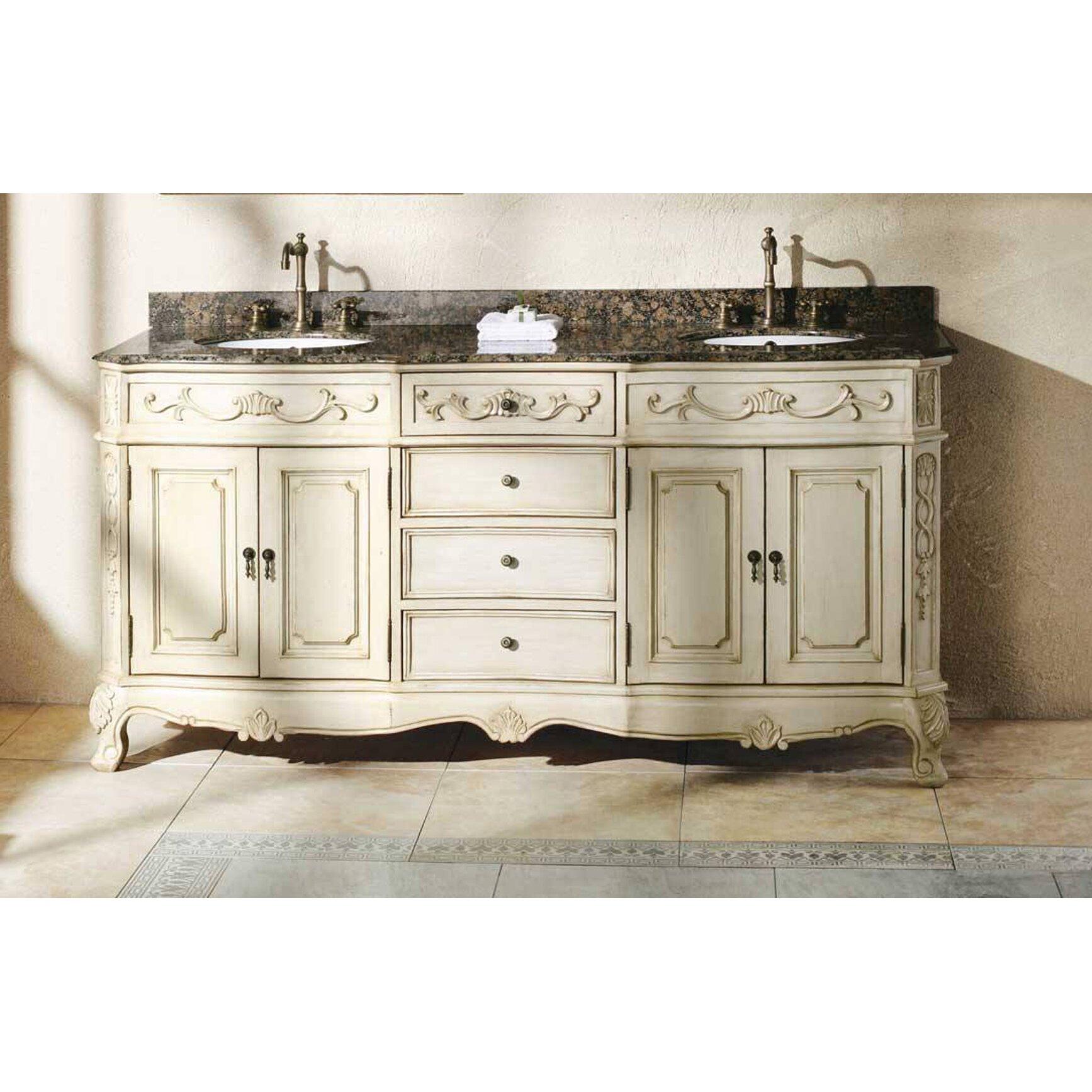 James Martin Furniture Classico 72 Double White Bathroom