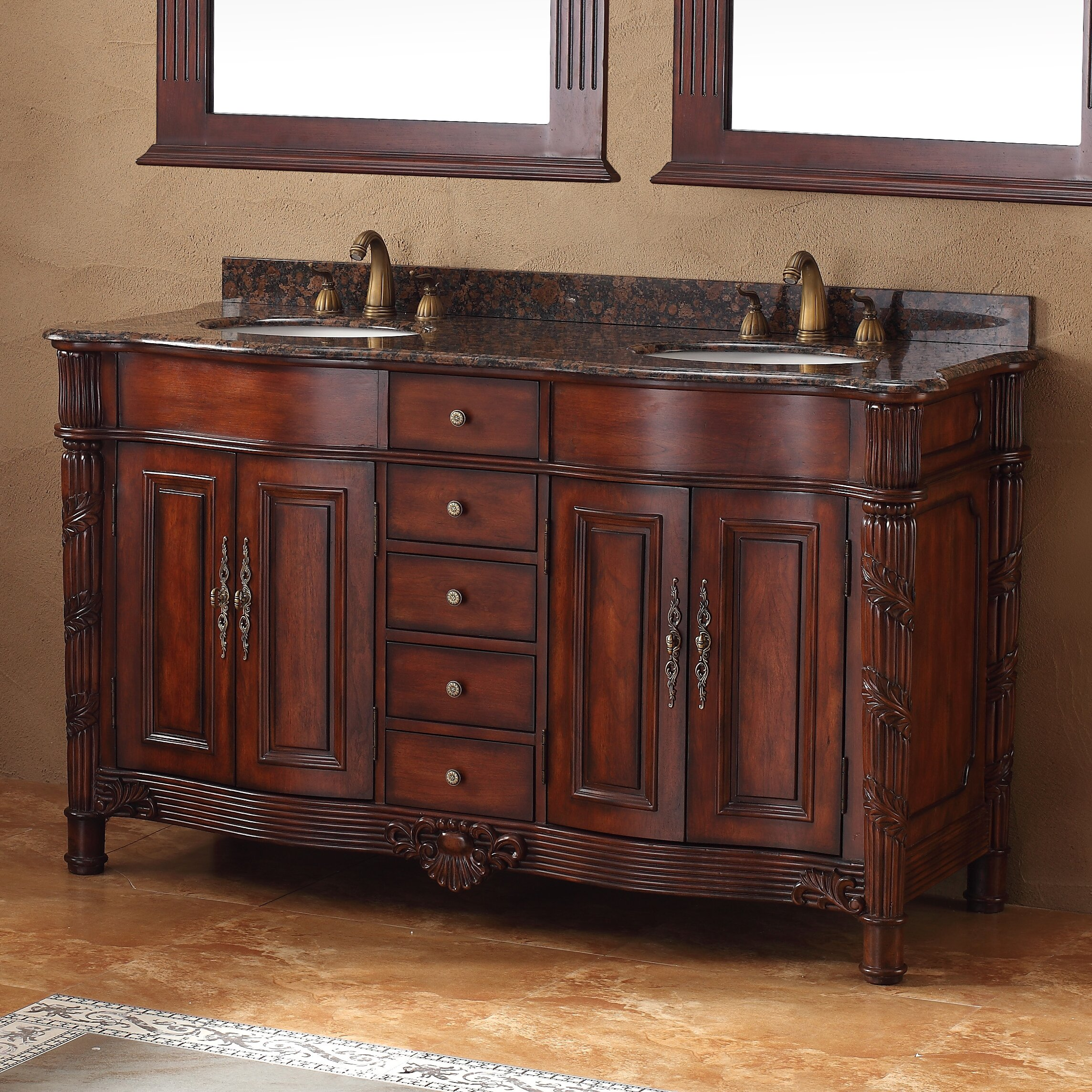 James Martin Furniture Classico 60 Double Bathroom Vanity