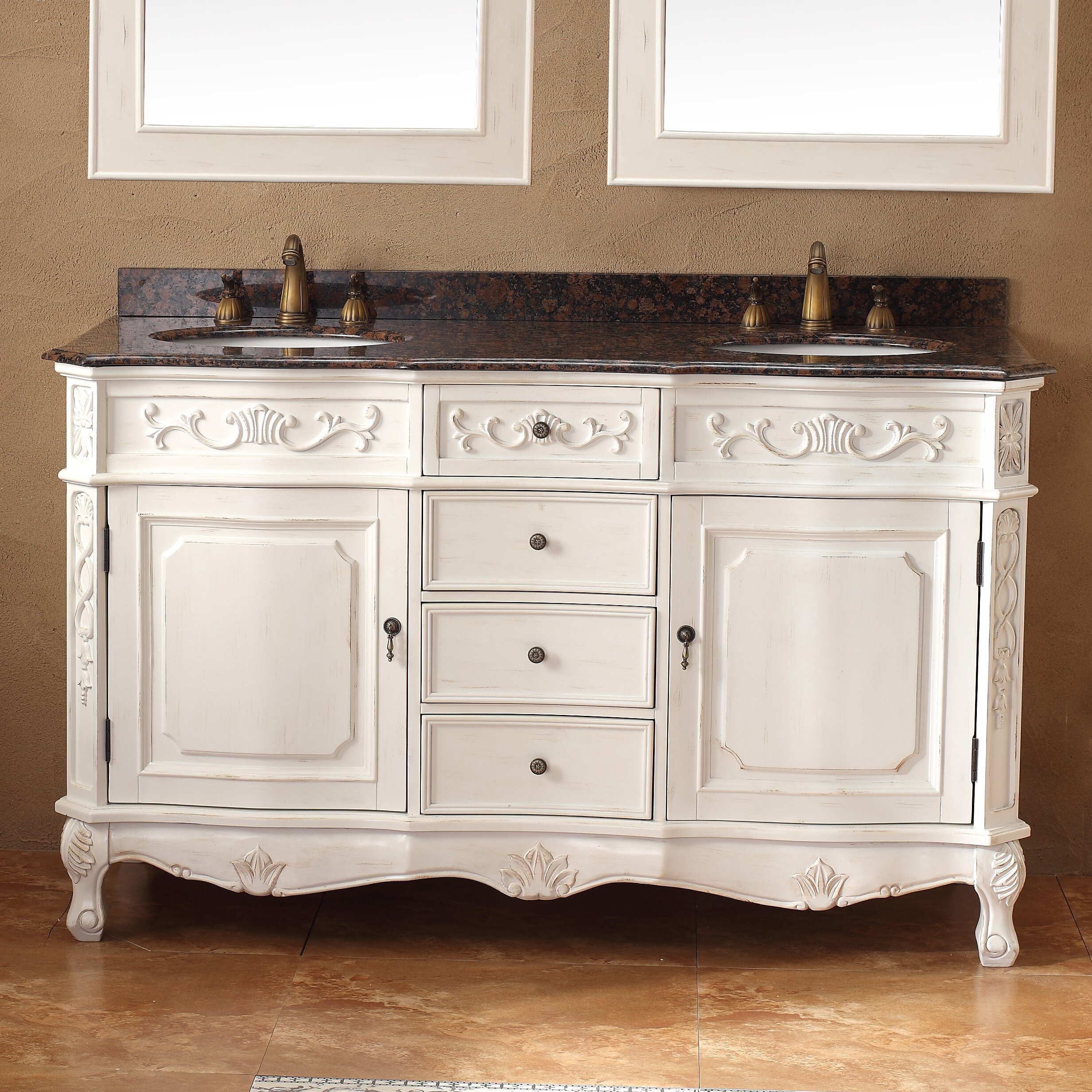 James Martin Furniture Classico 60 Double Bathroom Vanity Set Reviews Wayfair