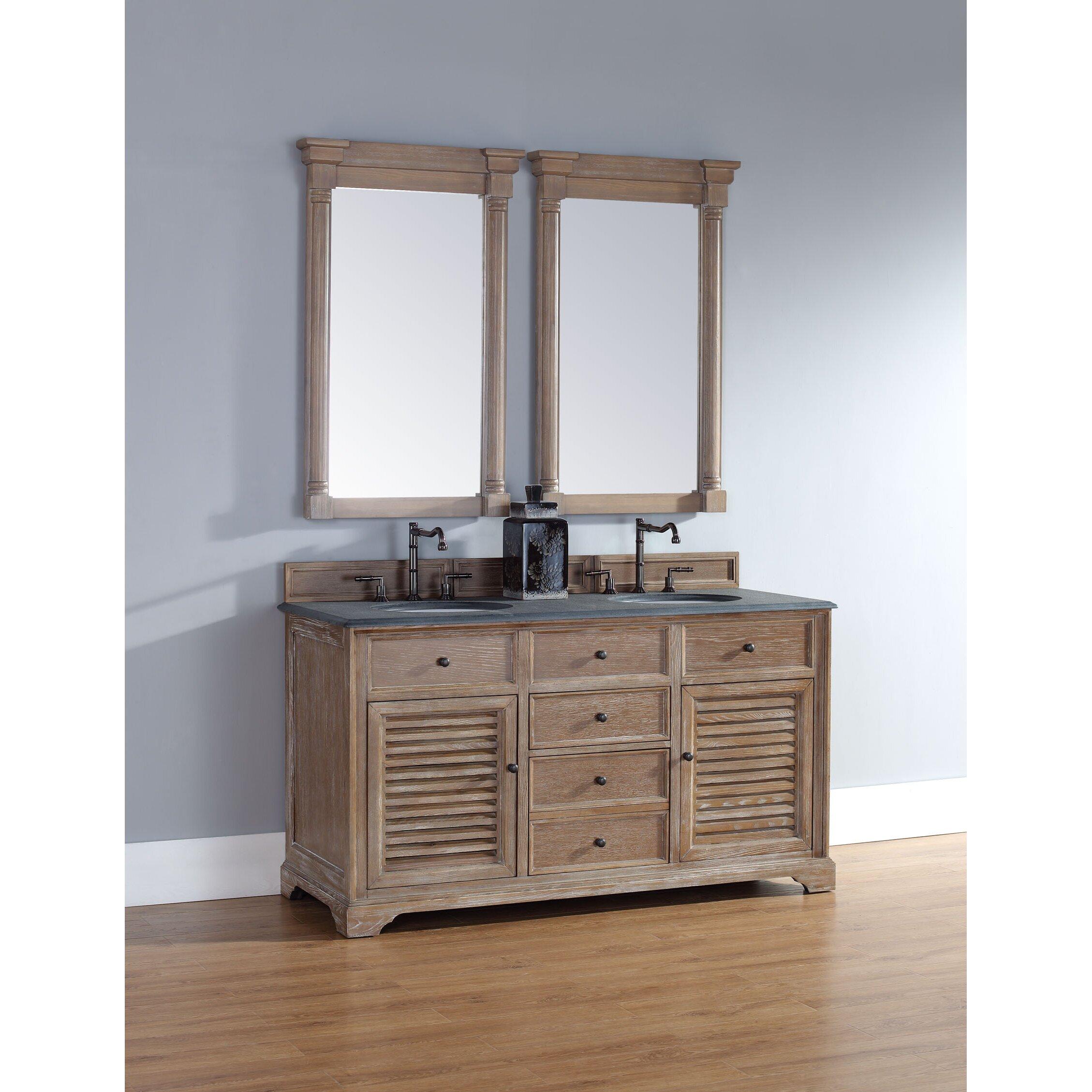 James Martin Furniture Savannah 60 Double Bathroom Vanity