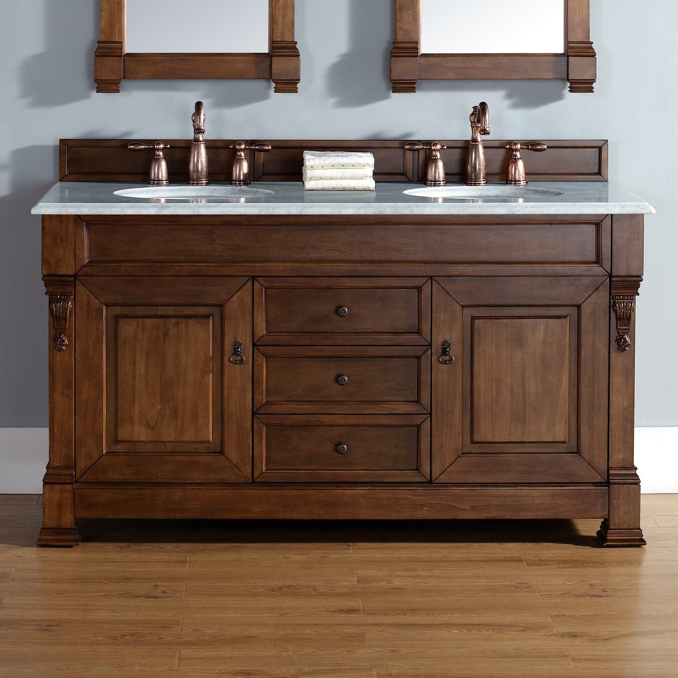 James Martin Furniture Brookfield 60 Double Country Oak