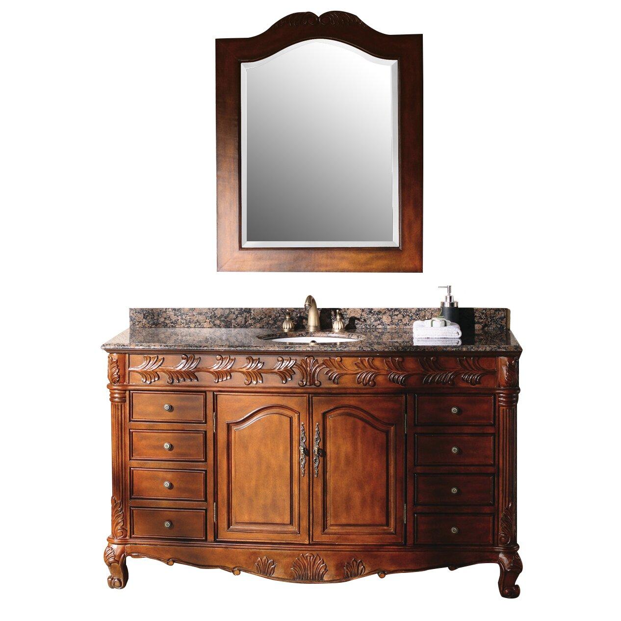 James Martin Furniture Classico 60 Single Cherry Bathroom