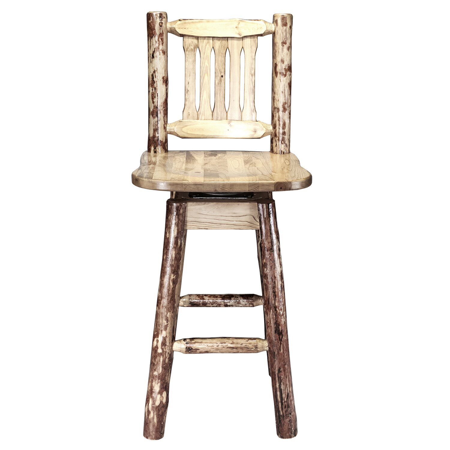 Montana Woodworks 174 Glacier Country 30 Quot Swivel Bar Stool
