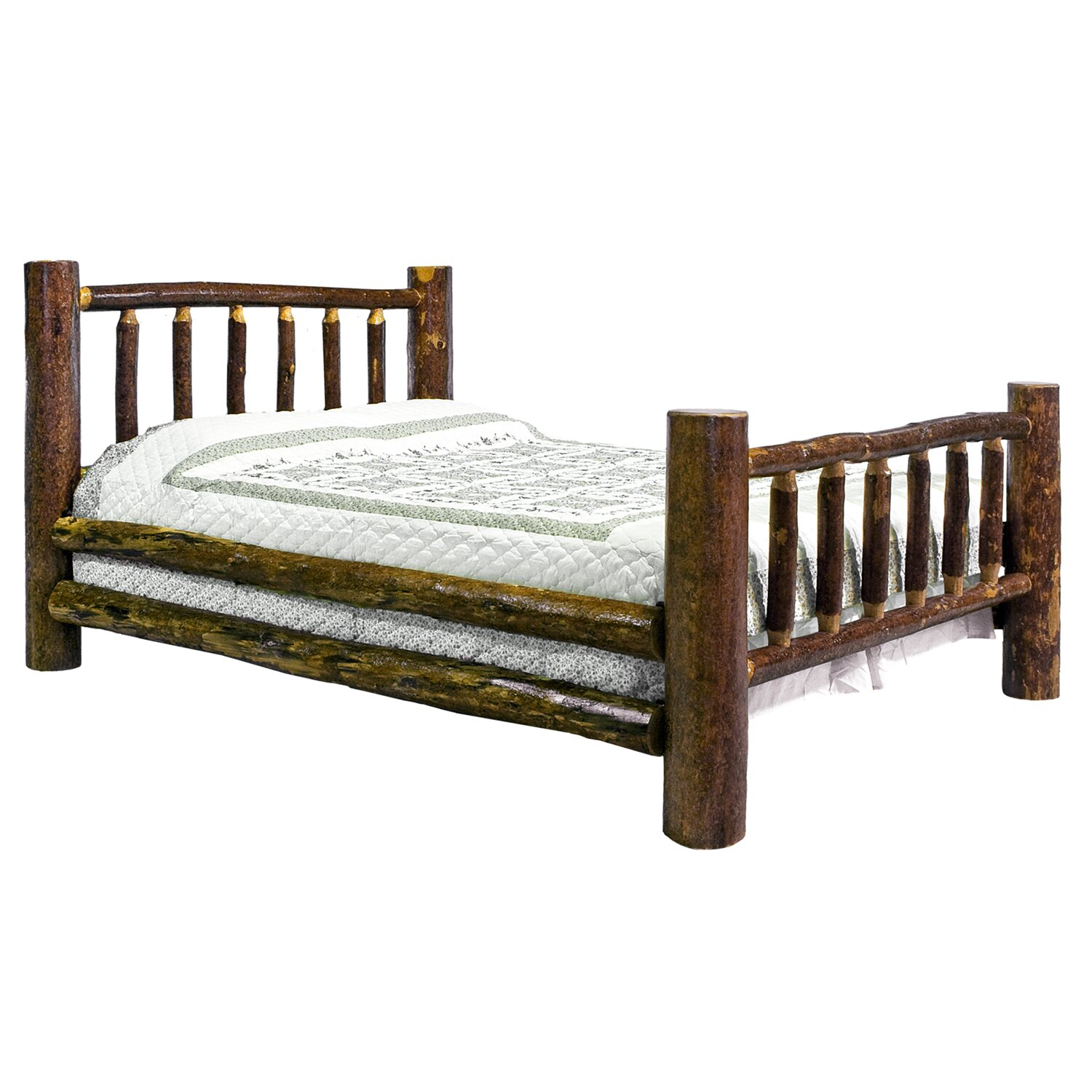 Montana Woodworks Glacier Country Collection Panel Bed Reviews Wayfair