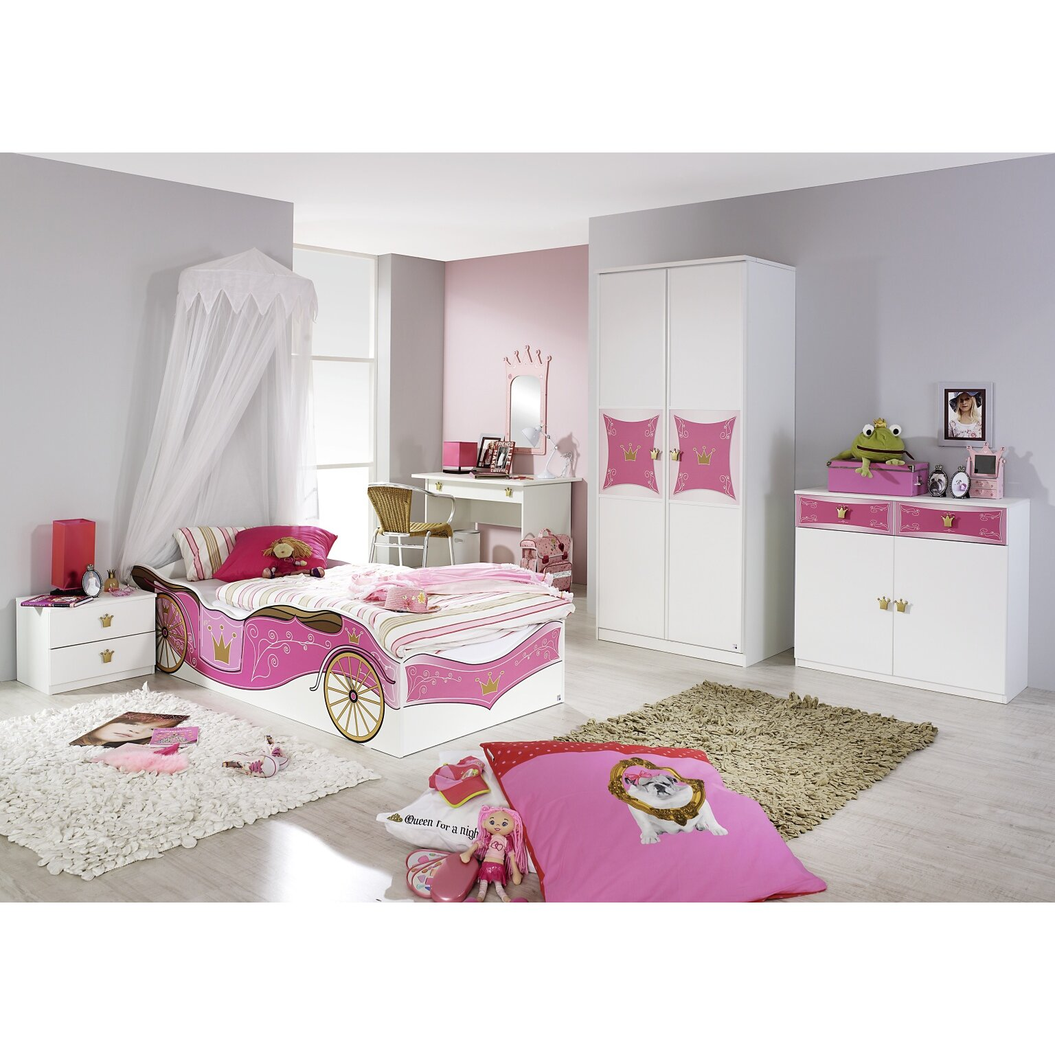 rauch 4 tlg schlafzimmer set kate 90 x 200 cm bewertungen. Black Bedroom Furniture Sets. Home Design Ideas