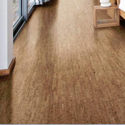 Wicanders corkcomfort 5 1 2 engineered cork hardwood for Cork flooring kitchen reviews