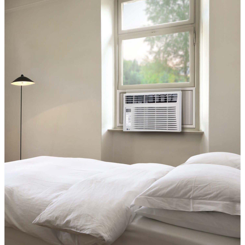 LG 6000 BTU Window Air Conditioner with Remote & Reviews Wayfair #756B56