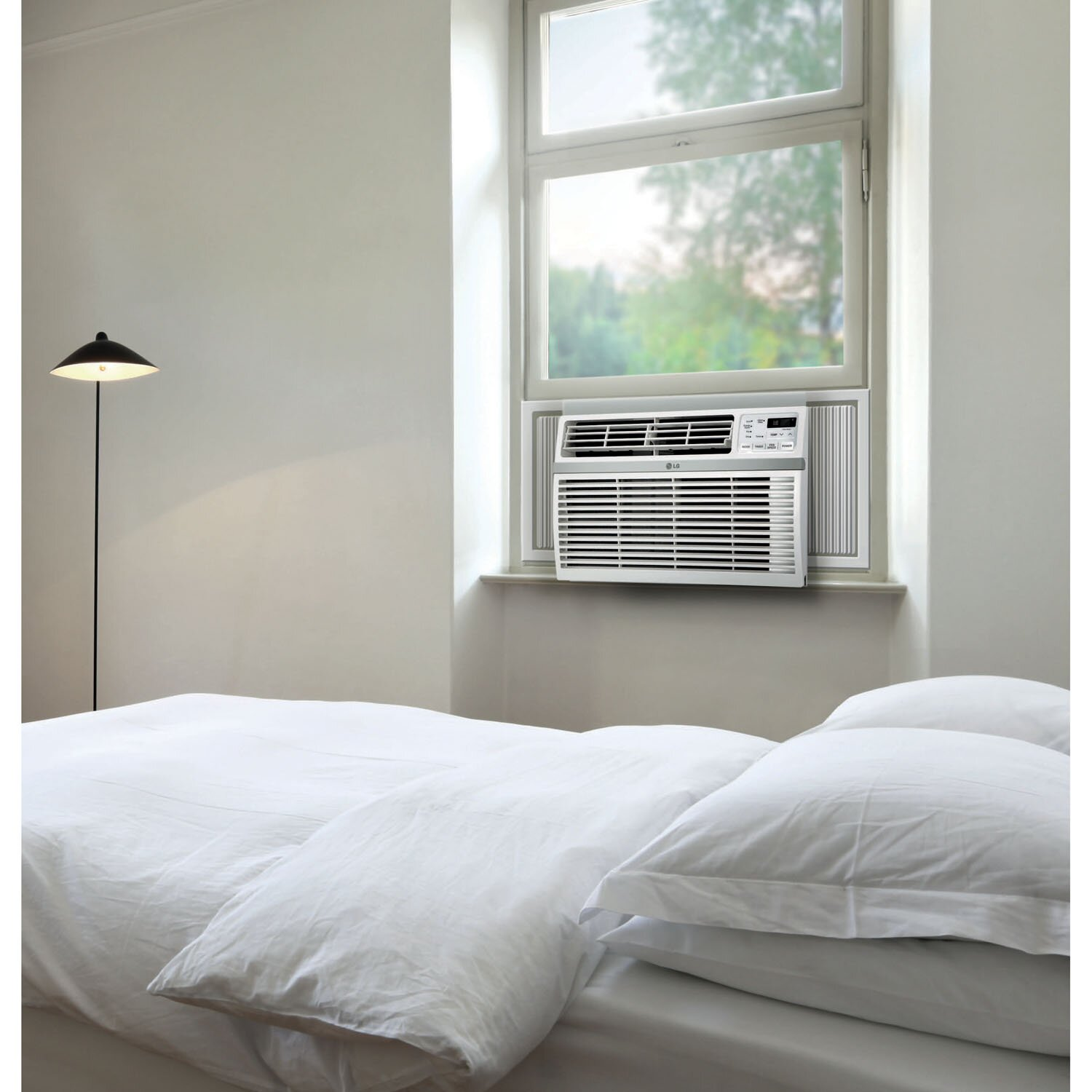LG 8000 BTU Window Air Conditioner with Remote & Reviews Wayfair #5B706A